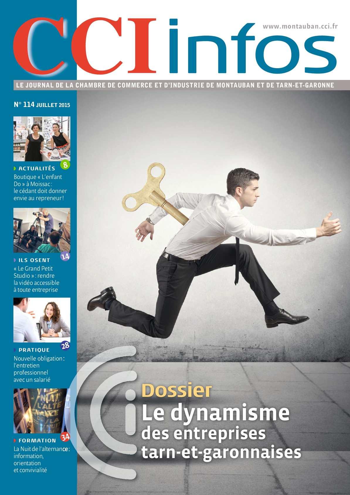 Calam o cci infos juillet 2015 114 for Chambre de commerce montauban