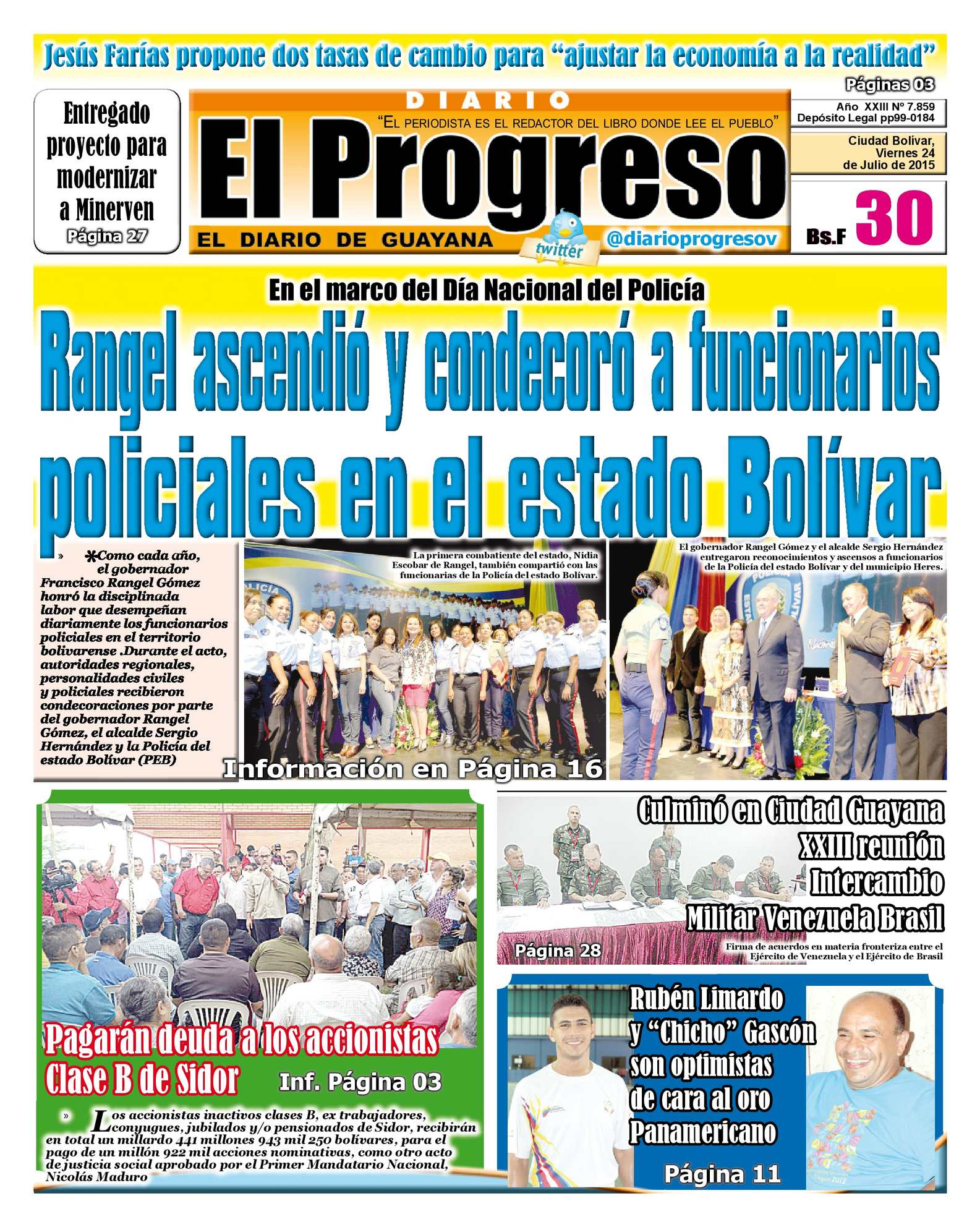 Calaméo - DiarioelprogresoEDICIÓNDIGITAL 24-07-2015