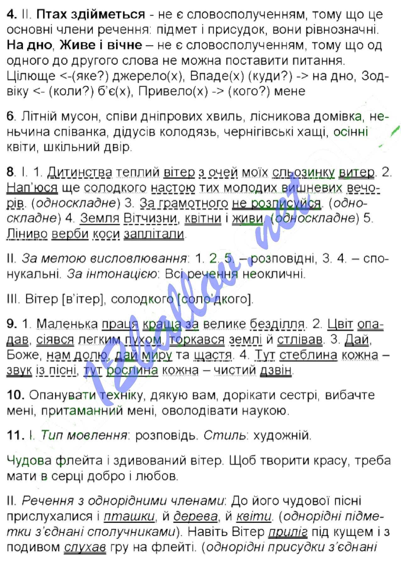 Українська мова 6 клас Заболотний