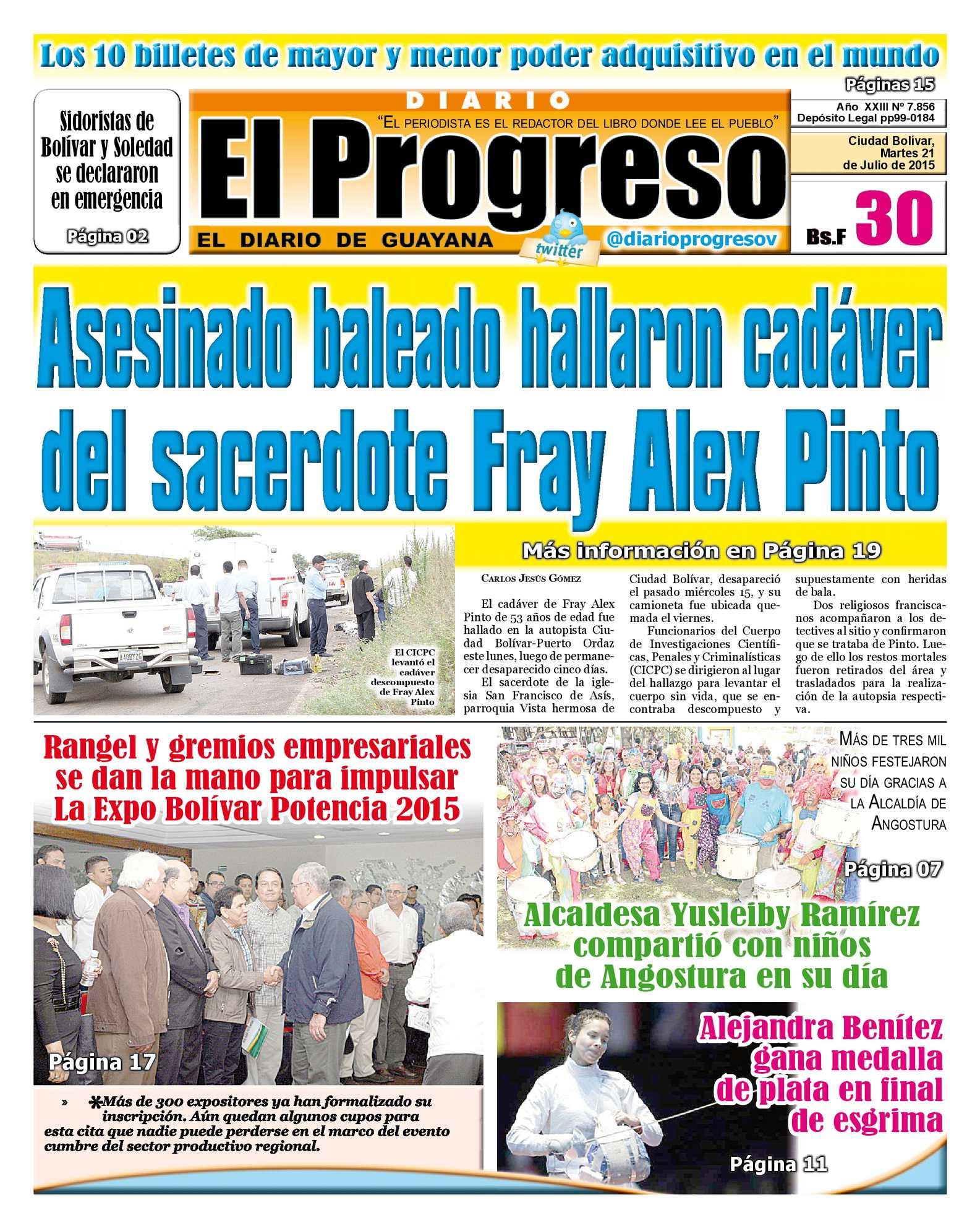 Calaméo - DiarioelprogresoEDICIÓNDIGITAL 21-07-2015