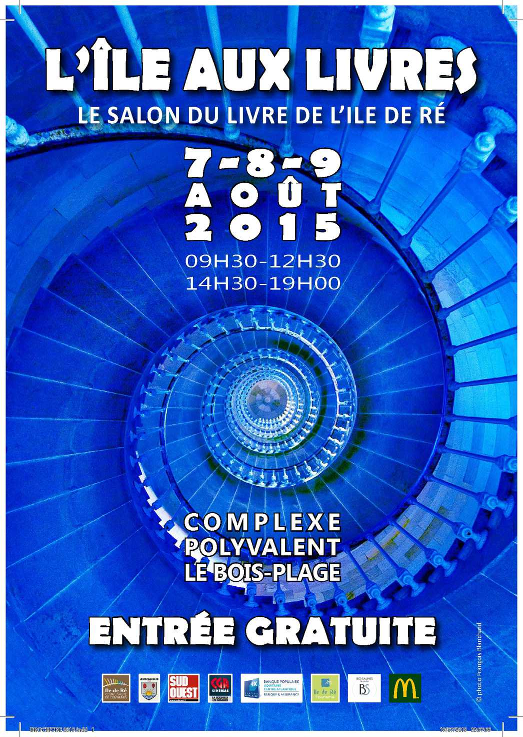 Calam o programme l 39 ile aux livres 2015 le salon du - Entree gratuite salon agriculture 2015 ...