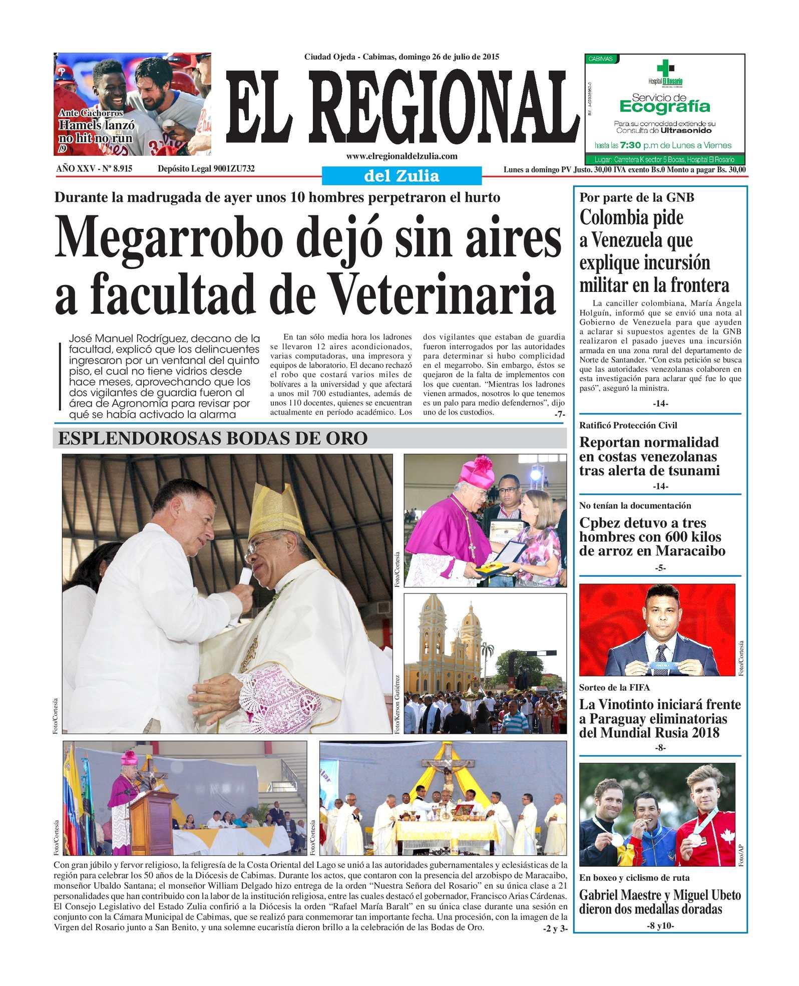 Calaméo - El Regional del Zulia 26-07-2015