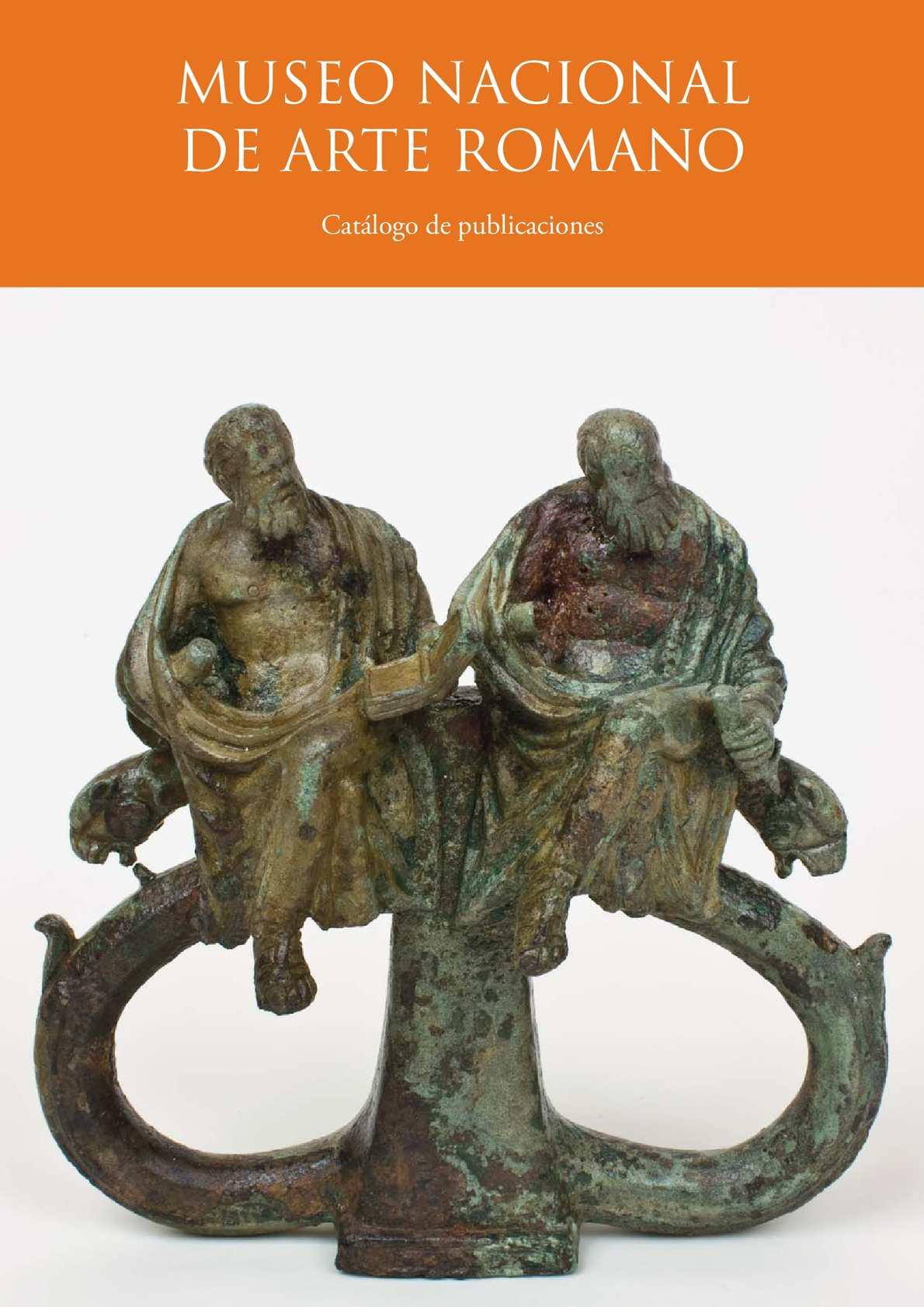 Calaméo - Museo Nacional de Arte Romano. Catálgo de publicaciones