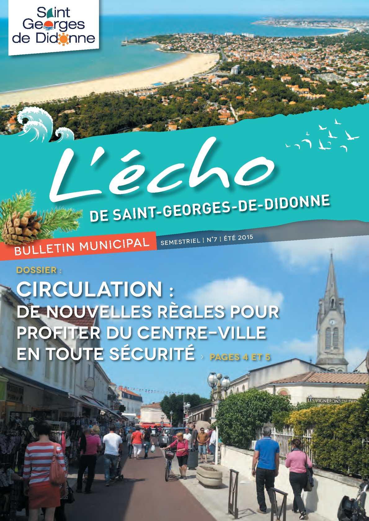 Calaméo L écho n°7 juin 2015