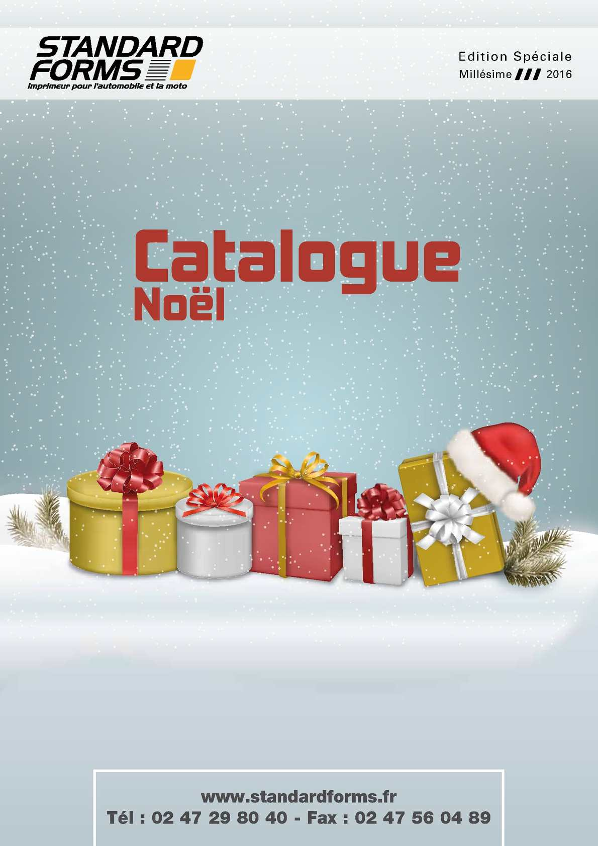 Catalogue calendriers et cartes de vœux 2016