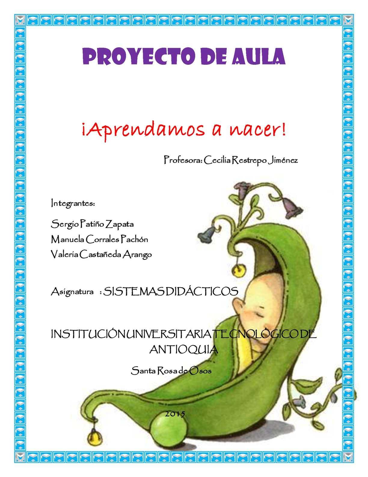 Calaméo - Proyecto De Aula- COMO NACEN LOS BEBES