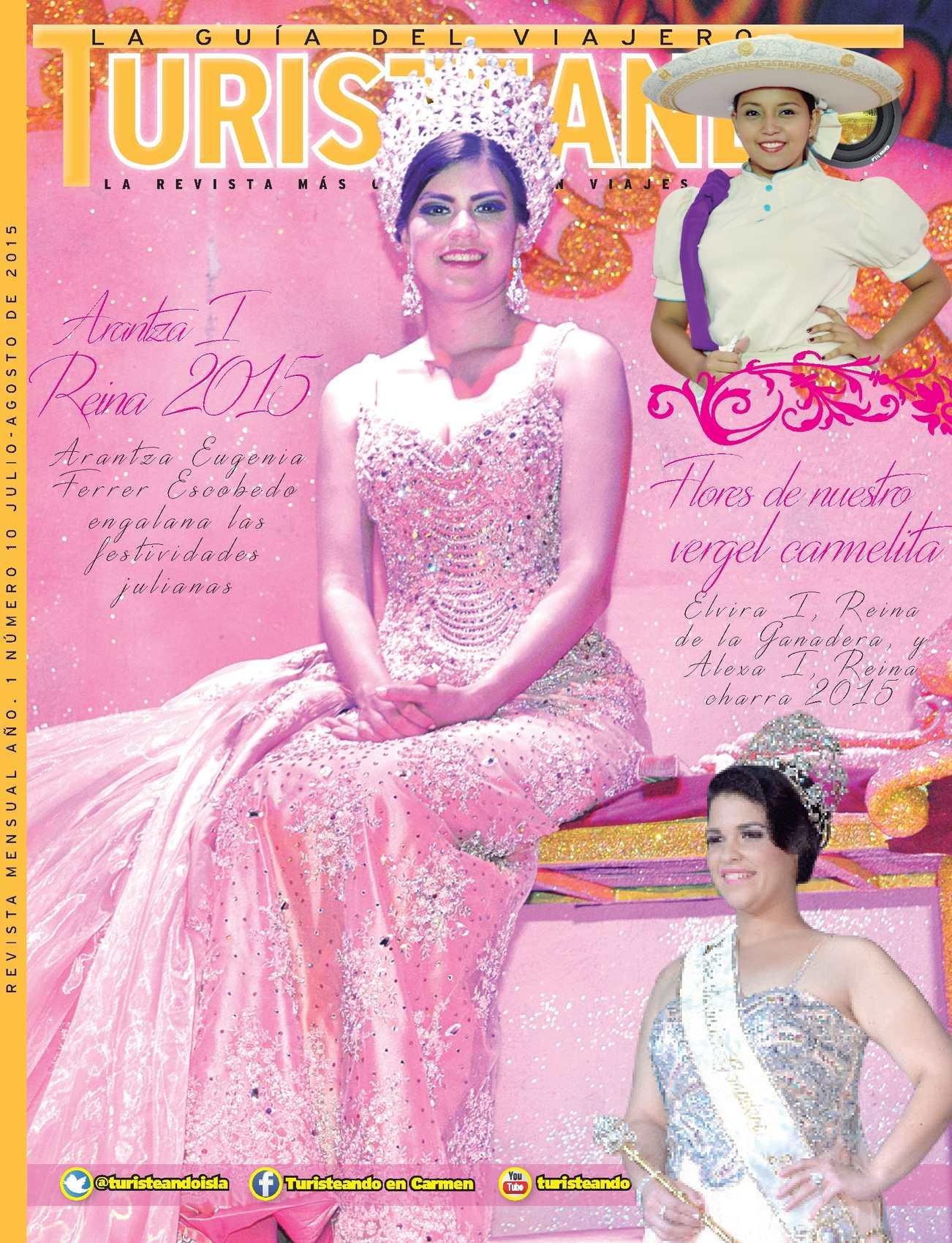 Revista de lujo Turisteando en Carmen edición num. 10