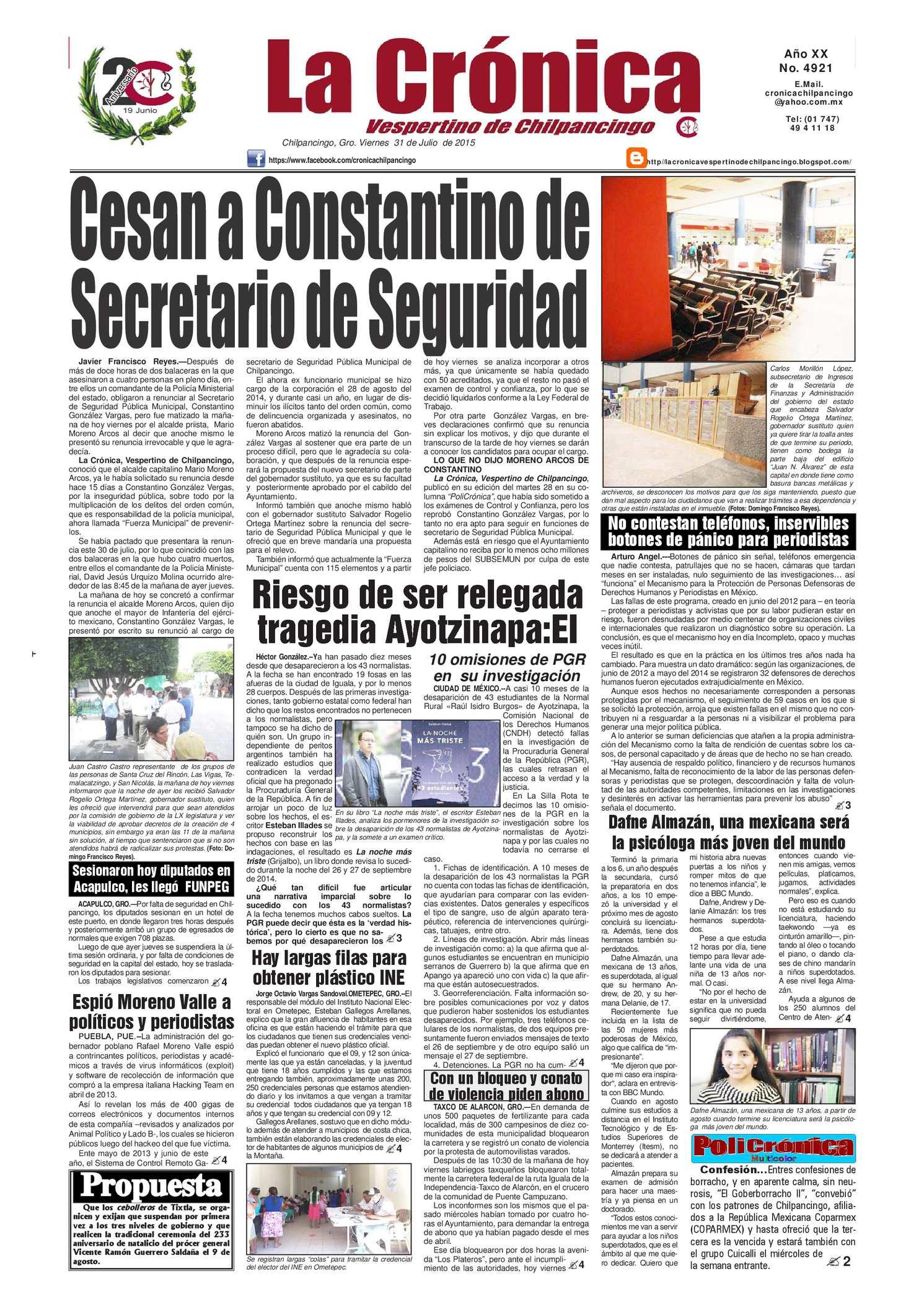 Calaméo - Cronica 4921