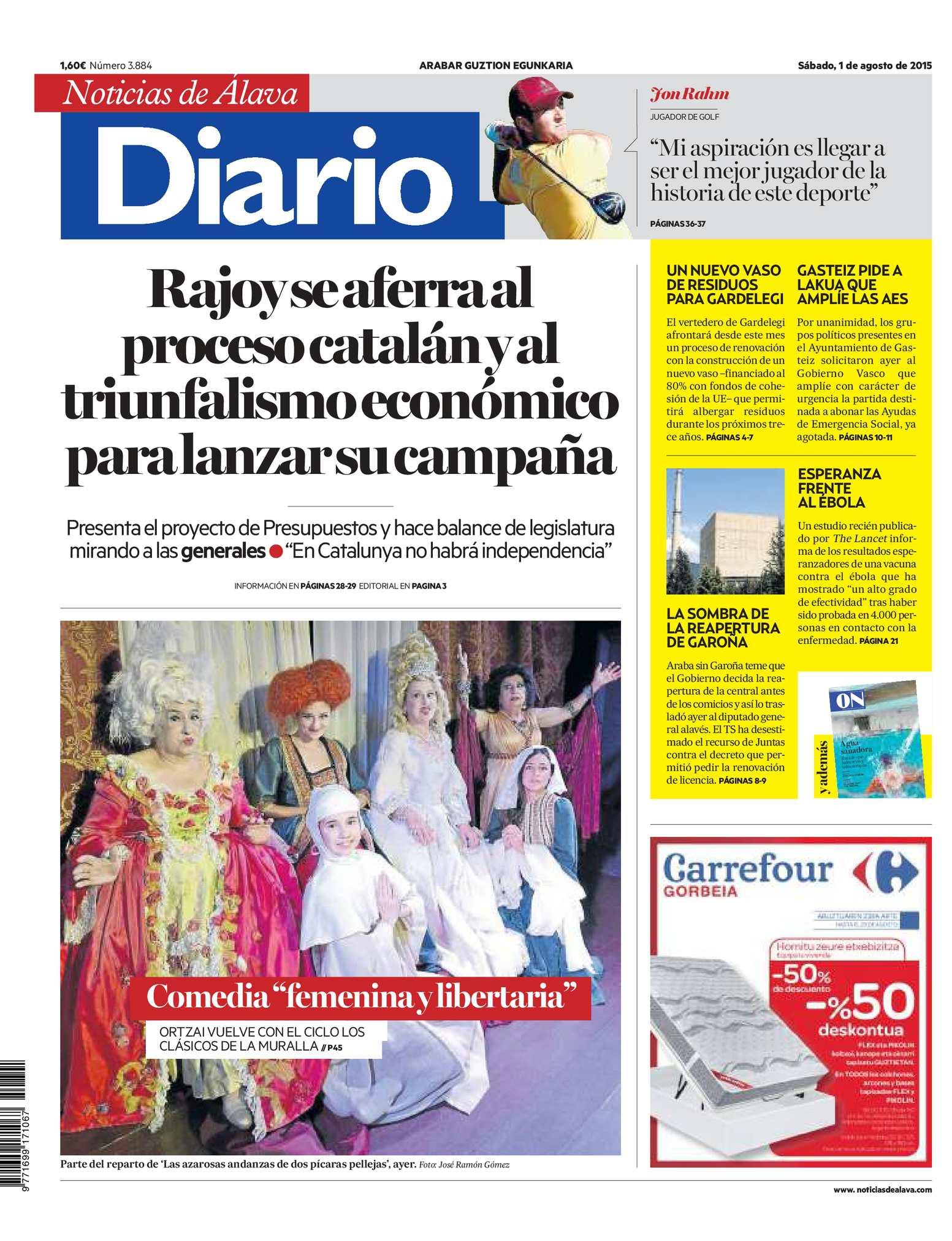 Calaméo - Diario de Noticias de Álava 20150801