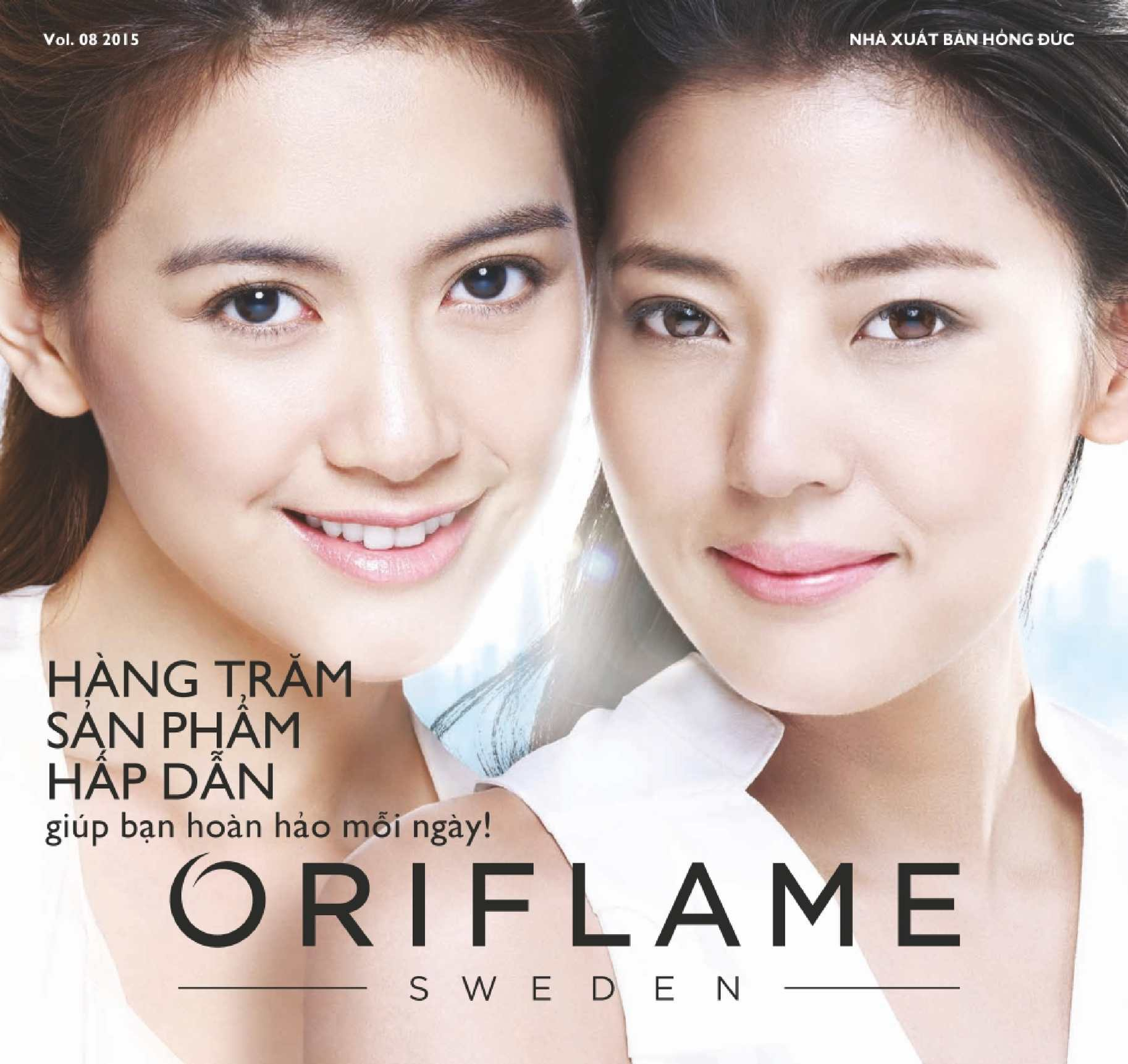 Catalogue My Pham Oriflame 8-2015