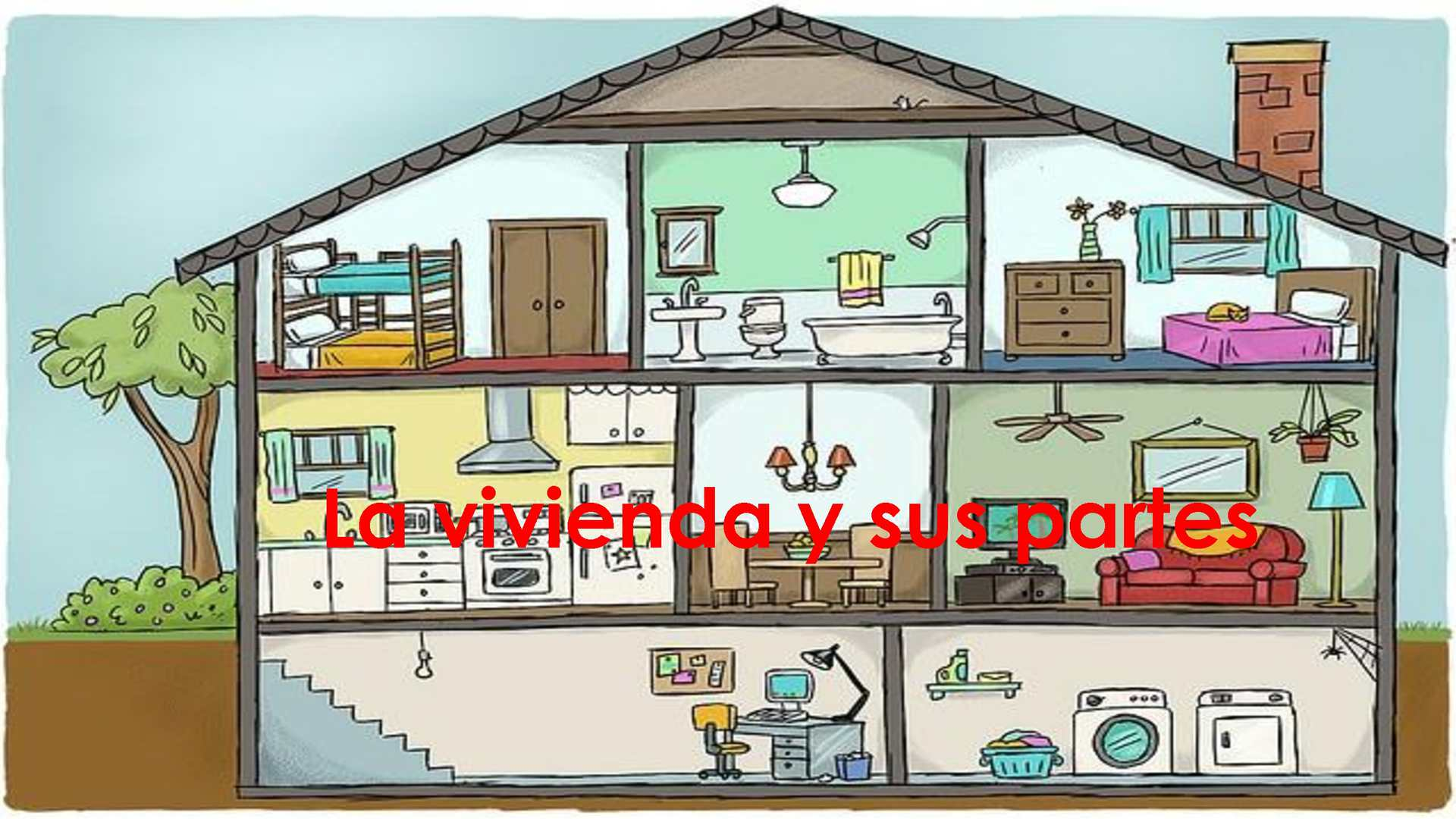 Calam o la vivienda y sus partes for Ideas para reformar una vivienda