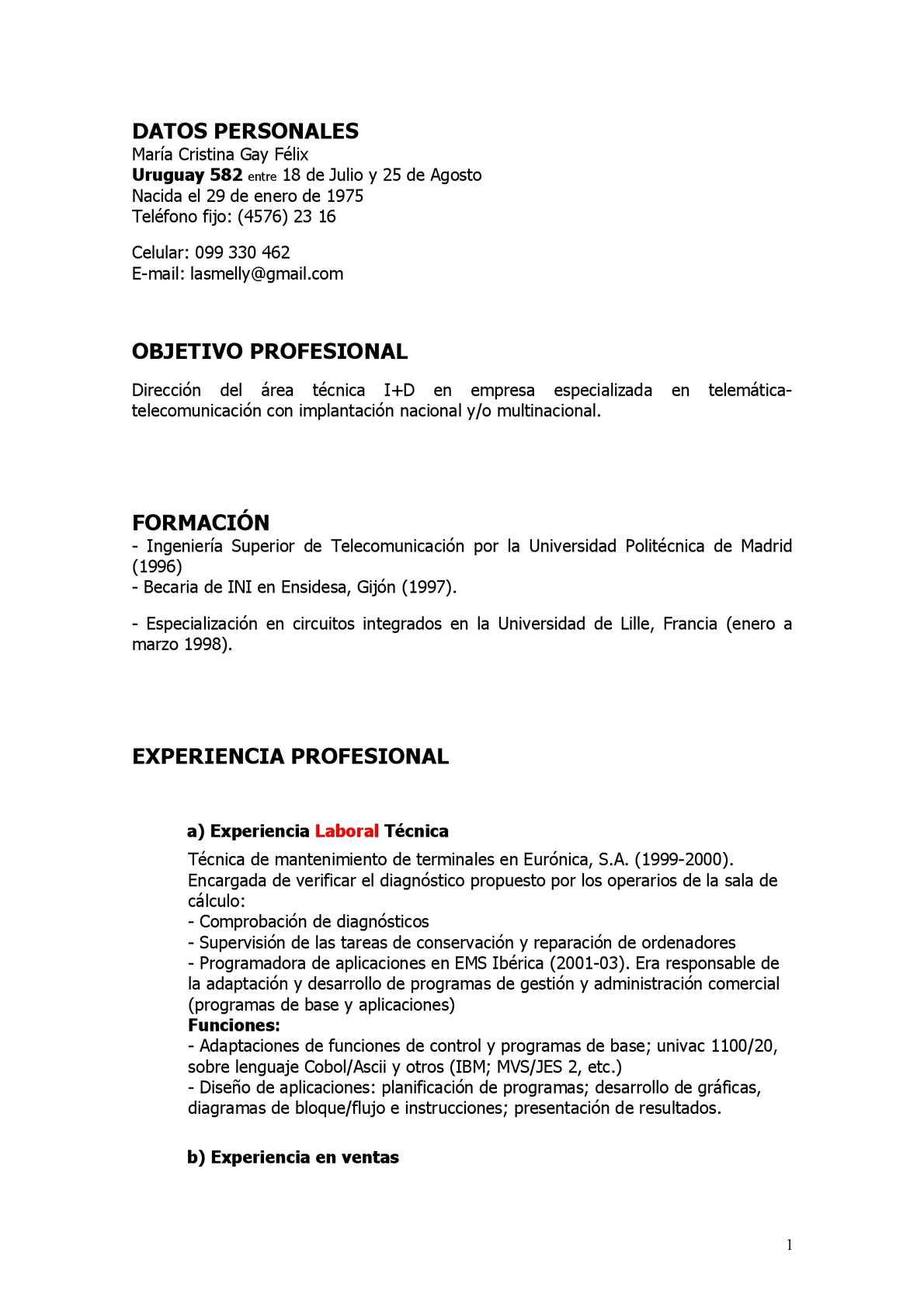 Calaméo - Curriculum Vitae Cronológico 2012