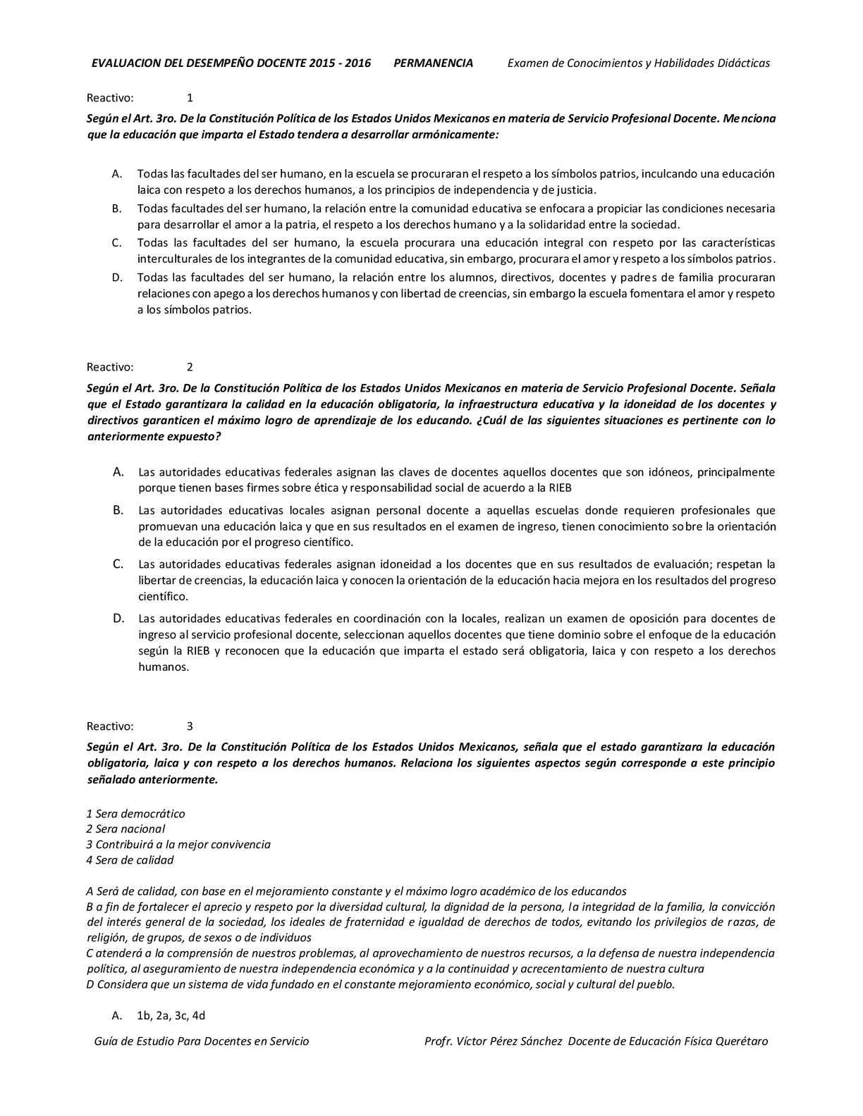 Calaméo - Examen Simulador de permanencia LUZMARIAENCISOPÈREZ
