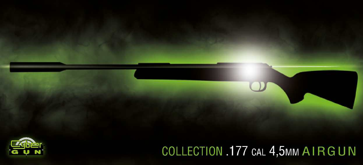 Collection airgun Cybergun