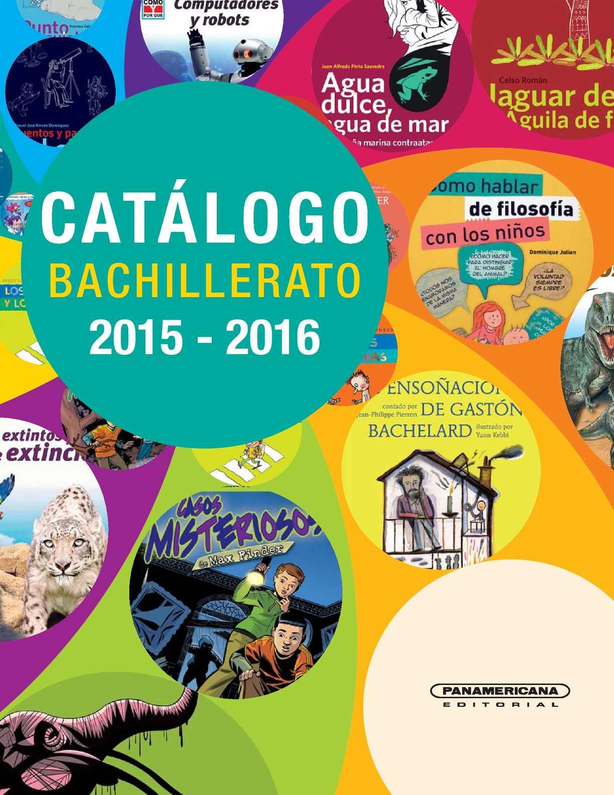 Calam o catalogo bachillerato 2015 2016 for Catalogo acqua e sapone 2015