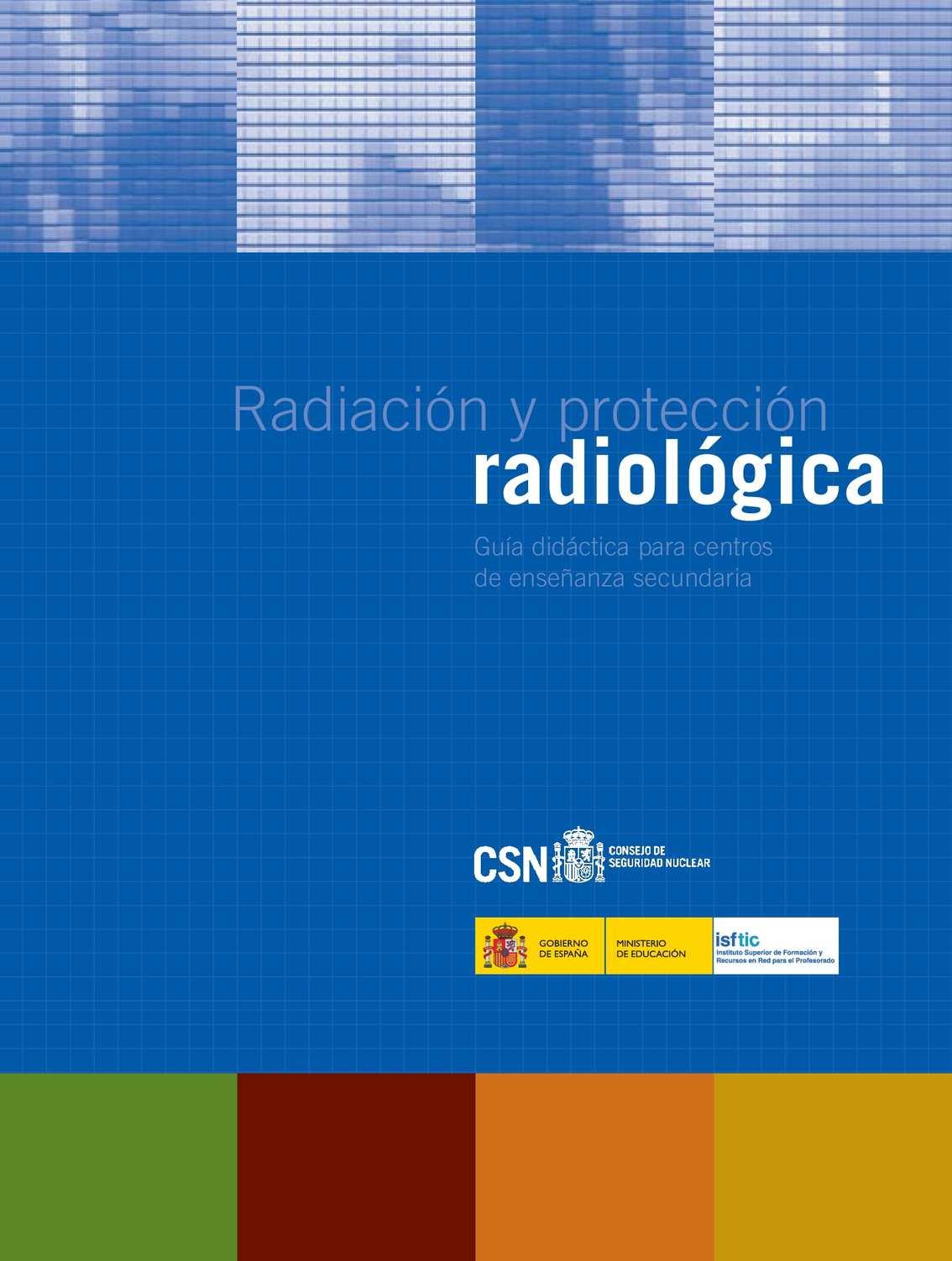 Calaméo - Guia Proteccion Radiologica Csn Para Secundaria