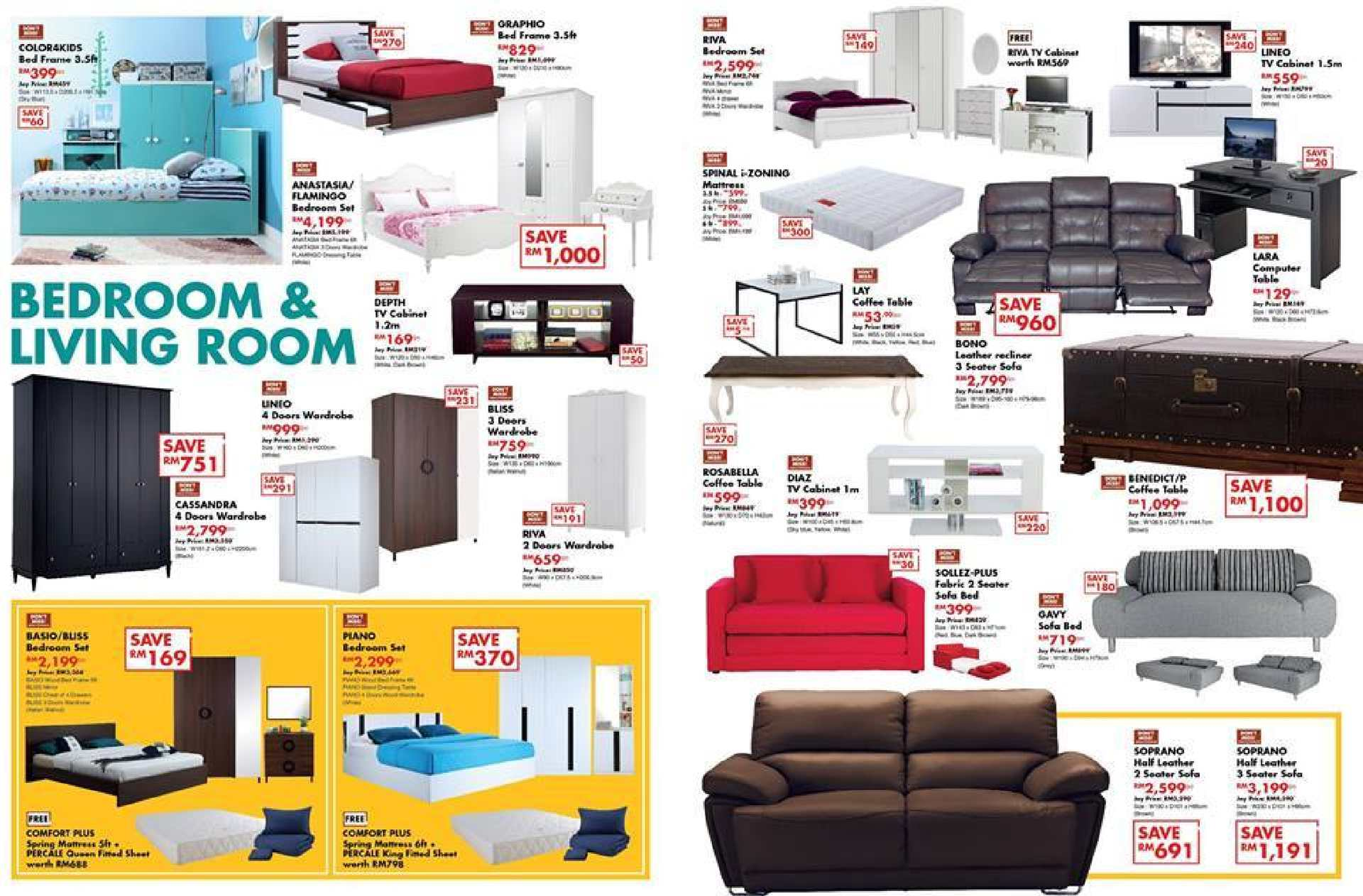 Calam o mix match for bedroom living room at index living mall aeon while stocks last71163 71163 - Maximizing design of living room by determining its needs ...