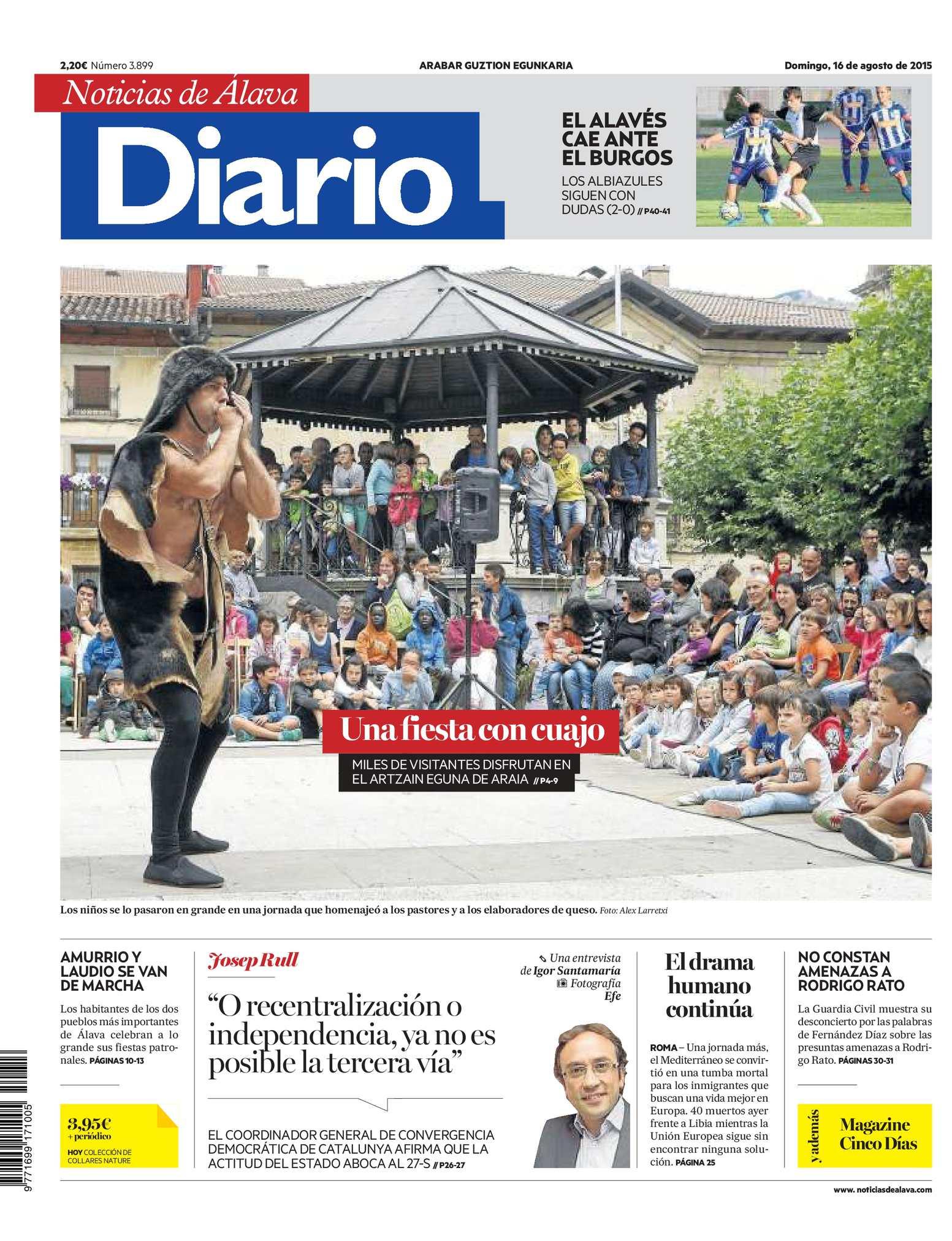 Calaméo - Diario de Noticias de Álava 20150816