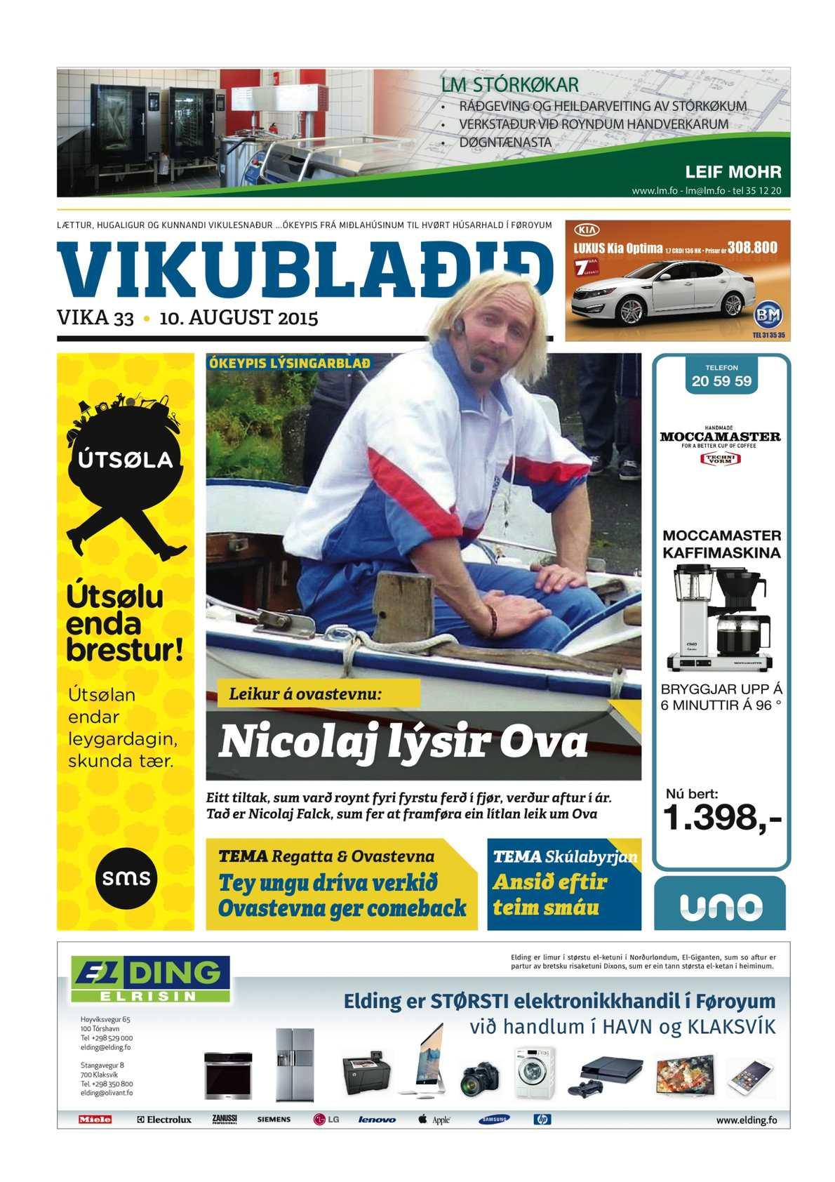 Vikublaðið 10. aug. 2015