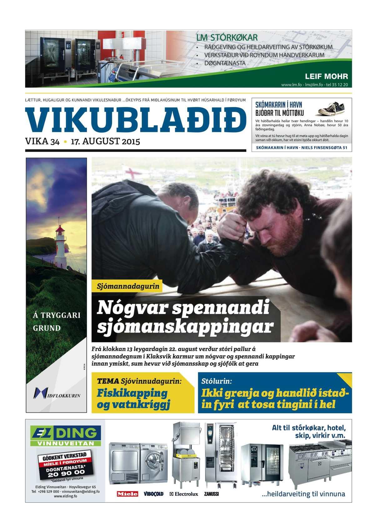 Vikublaðið 17. aug. 2015