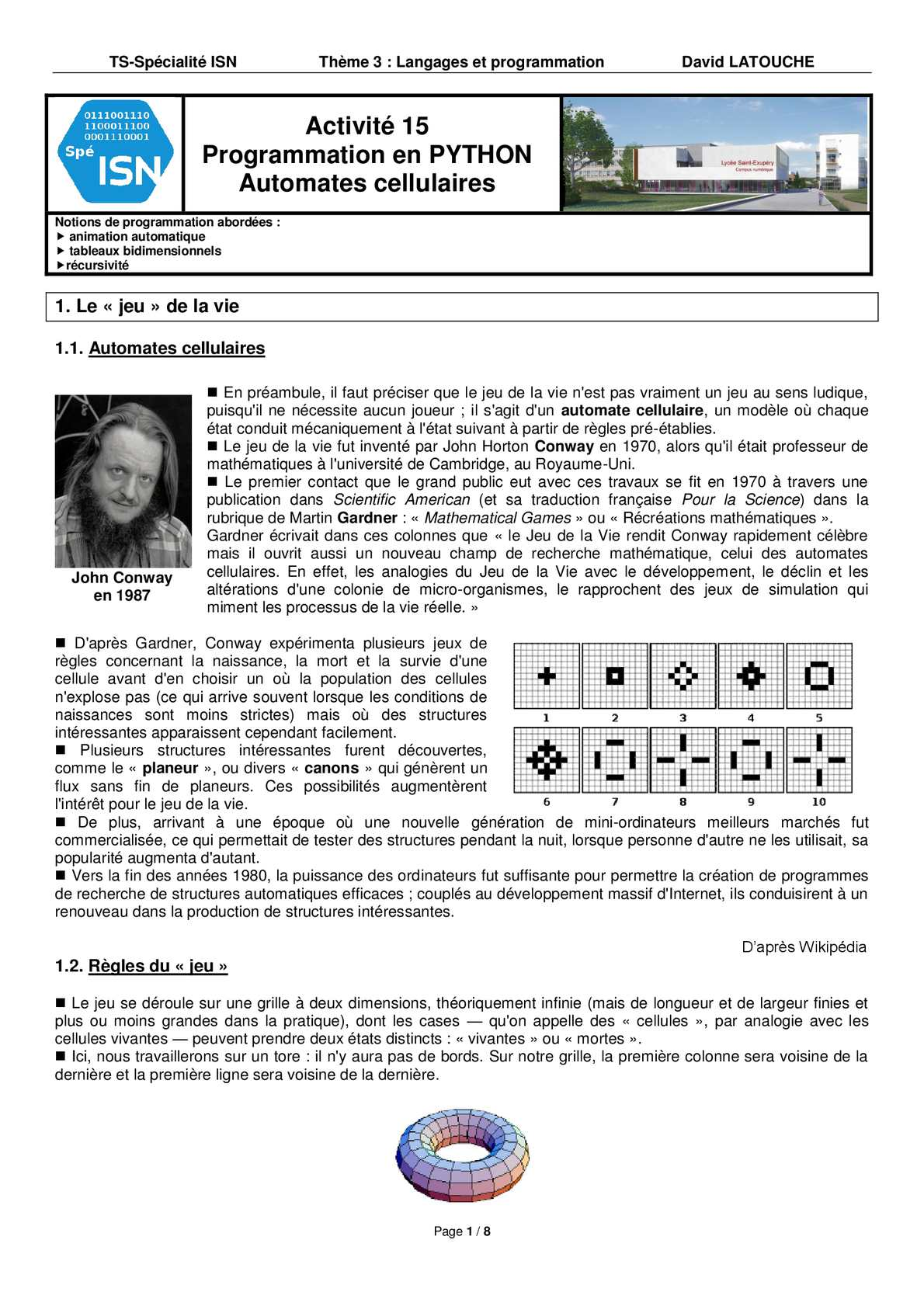 A15_ISN_Automates_Cellulaires