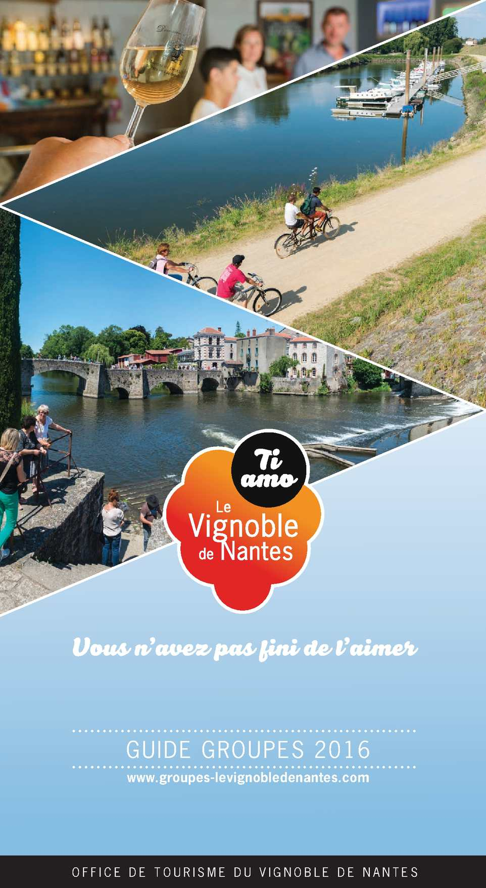 Calam o guide groupe 2016 office tourisme vignoble nantes - Office du tourisme nantes ...