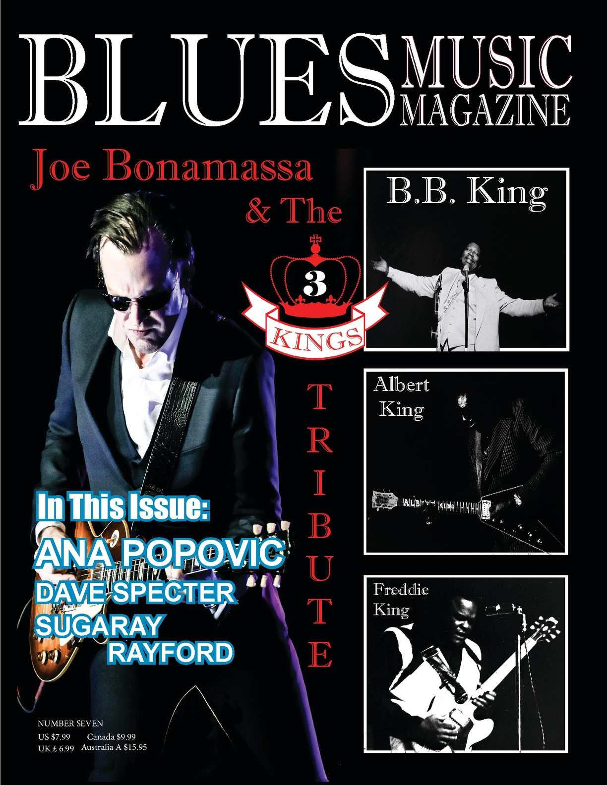 Calamo Blues Music Magazine Issues Seven Speaker Vertigo Vt 65 B