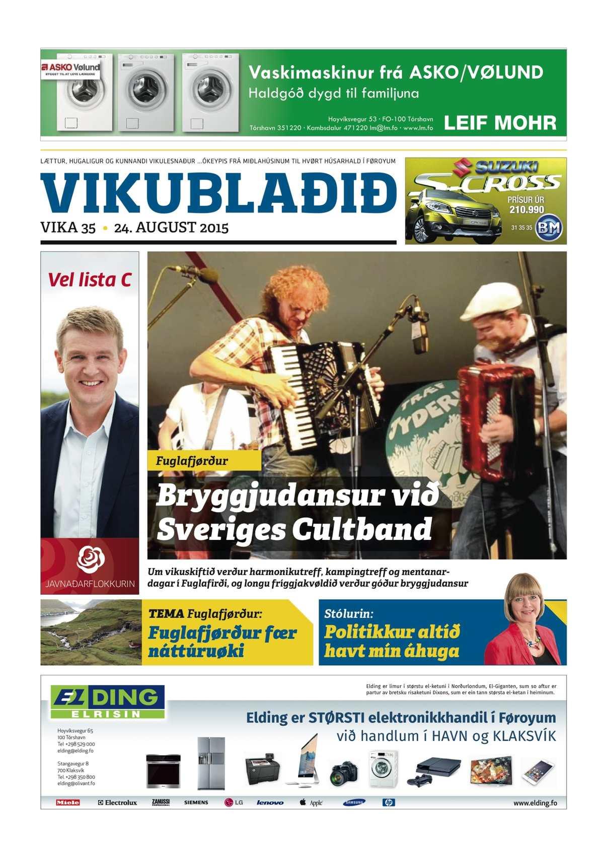 Vikublaðið 24. aug. 2015