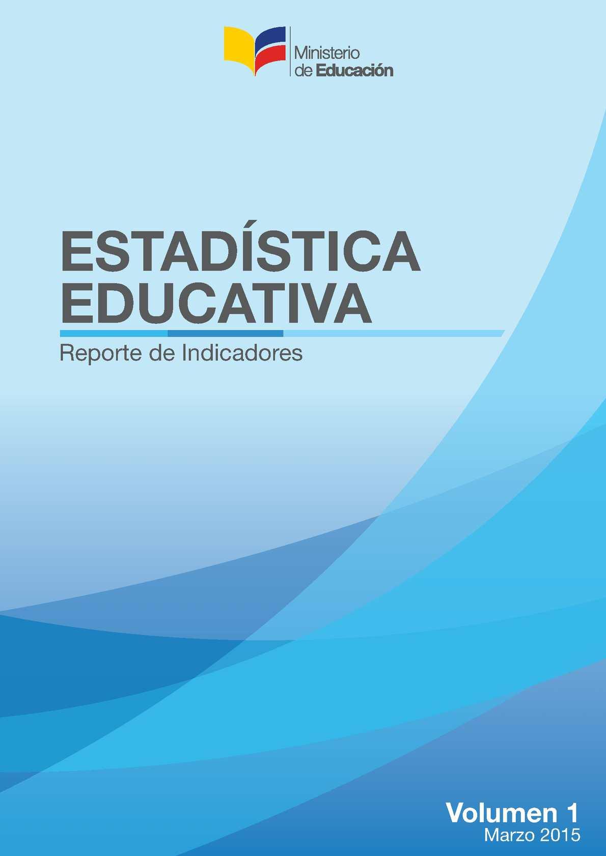 Estadística Educativa CGP-DNAIE Vol 1