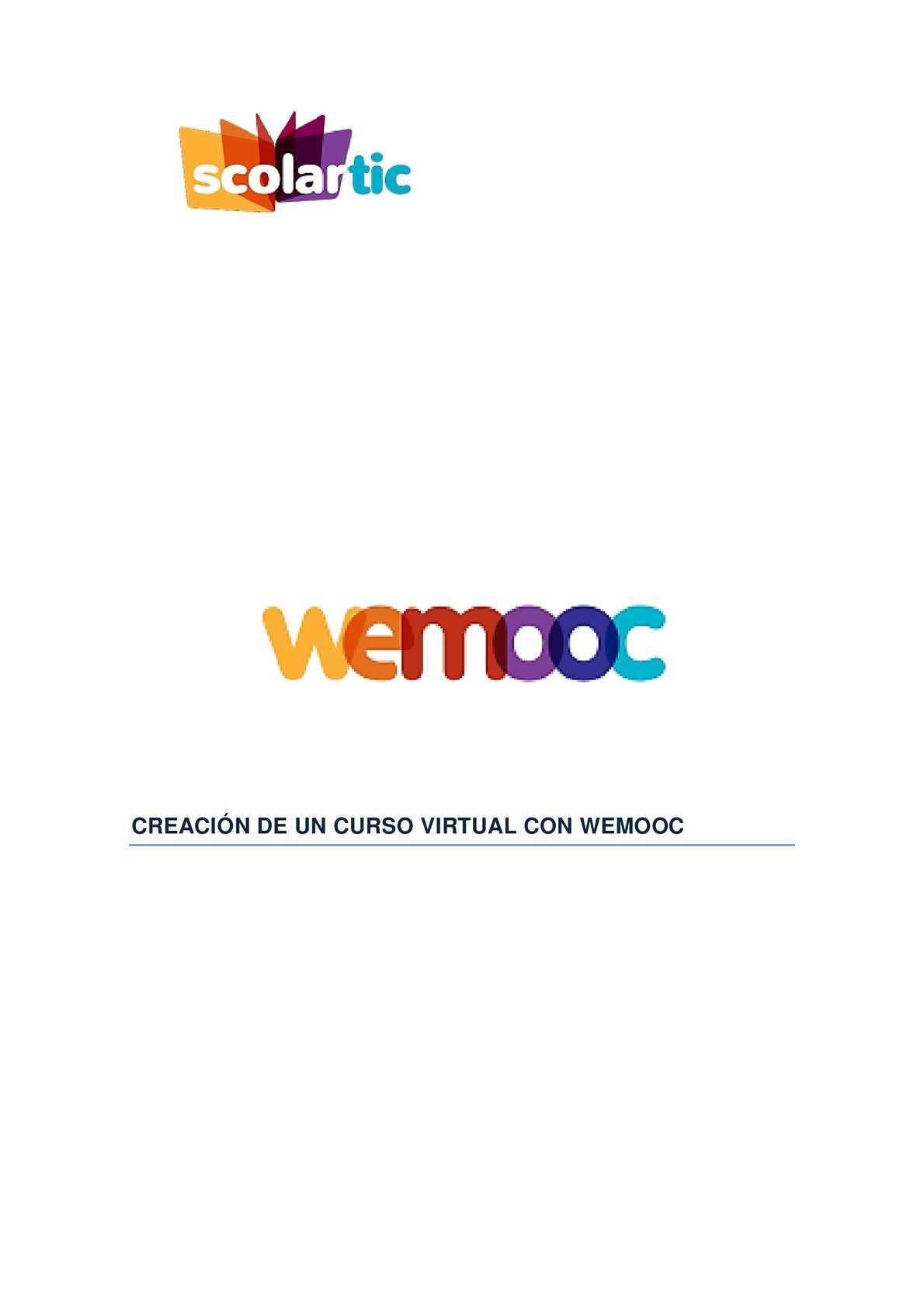 MANUAL DE WEMOOC
