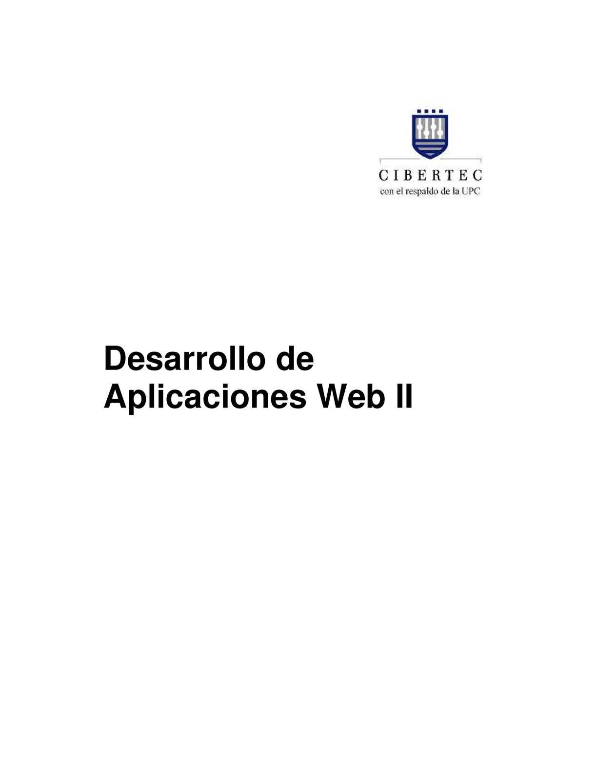 Calaméo - Desarrollo De Aplicaciones Web II