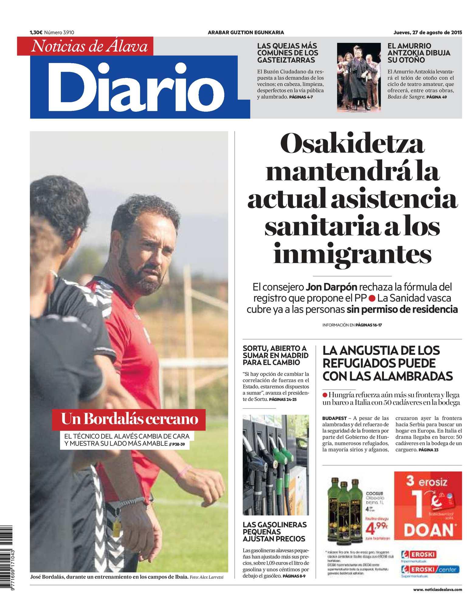 Calaméo - Diario de Noticias de Álava 20150827