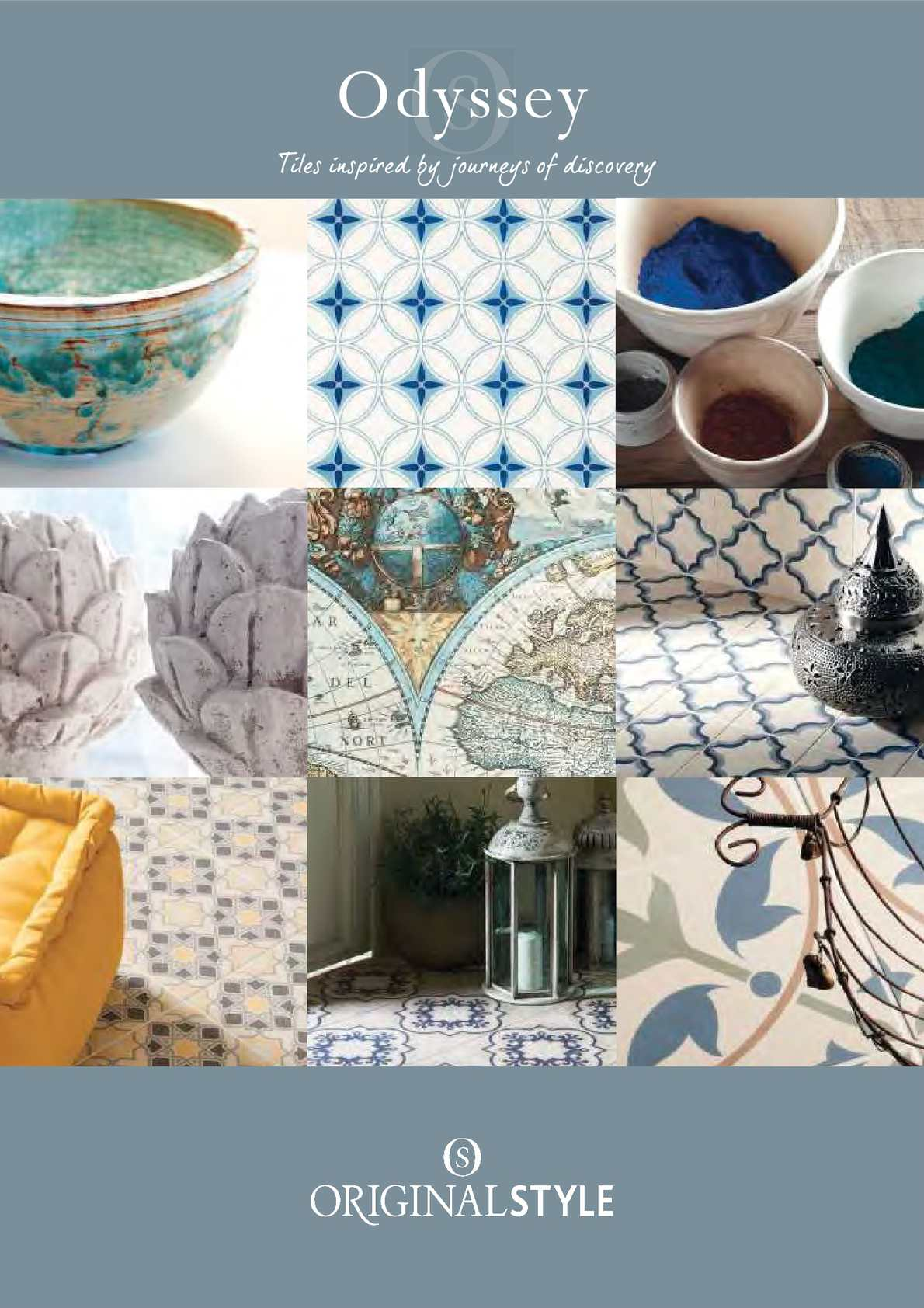 Calaméo Original Style Odyssey Brochure - Carrelage salle de bain et linie design tapis