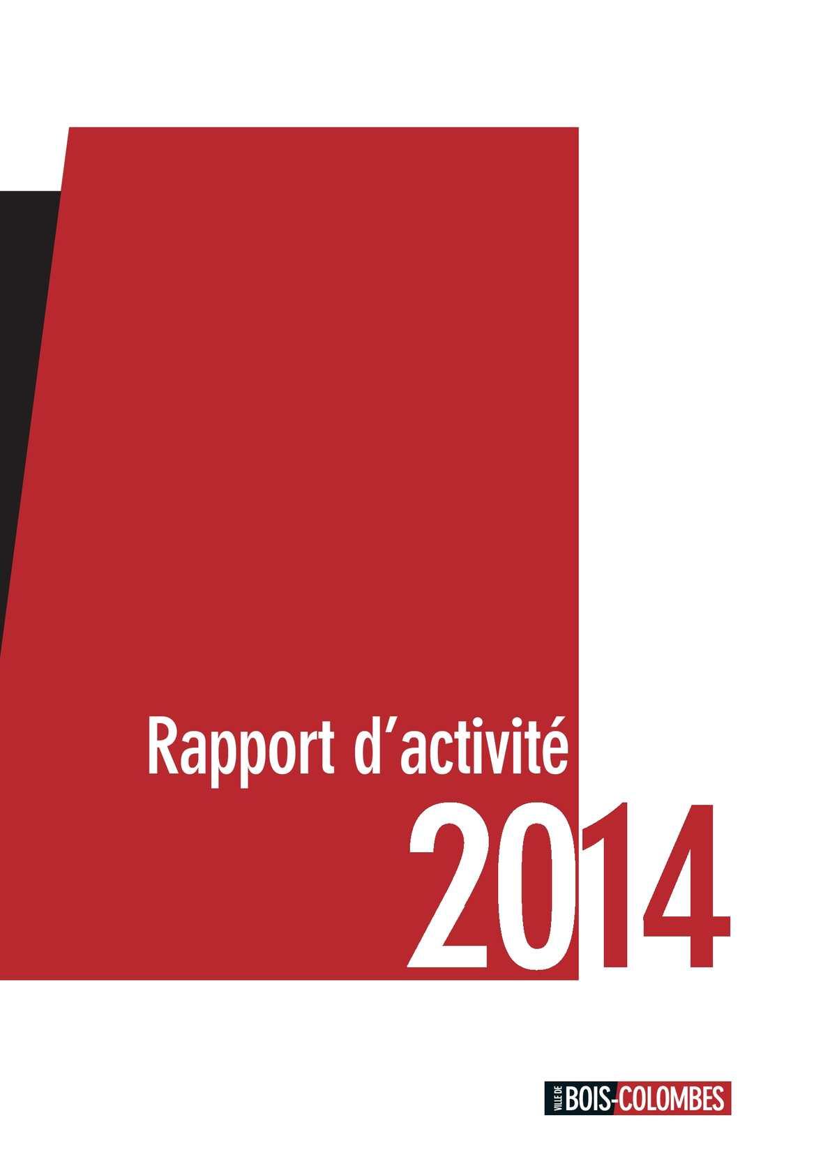 Calaméo  Rapport dactivité 2014  Mairie de BoisColombes