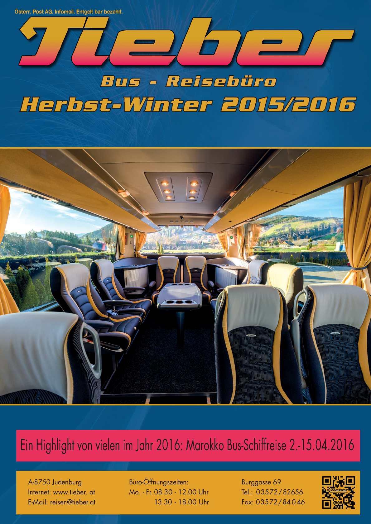 Calaméo Tieber Reisen Herbst Winter Katalog 2015 2016
