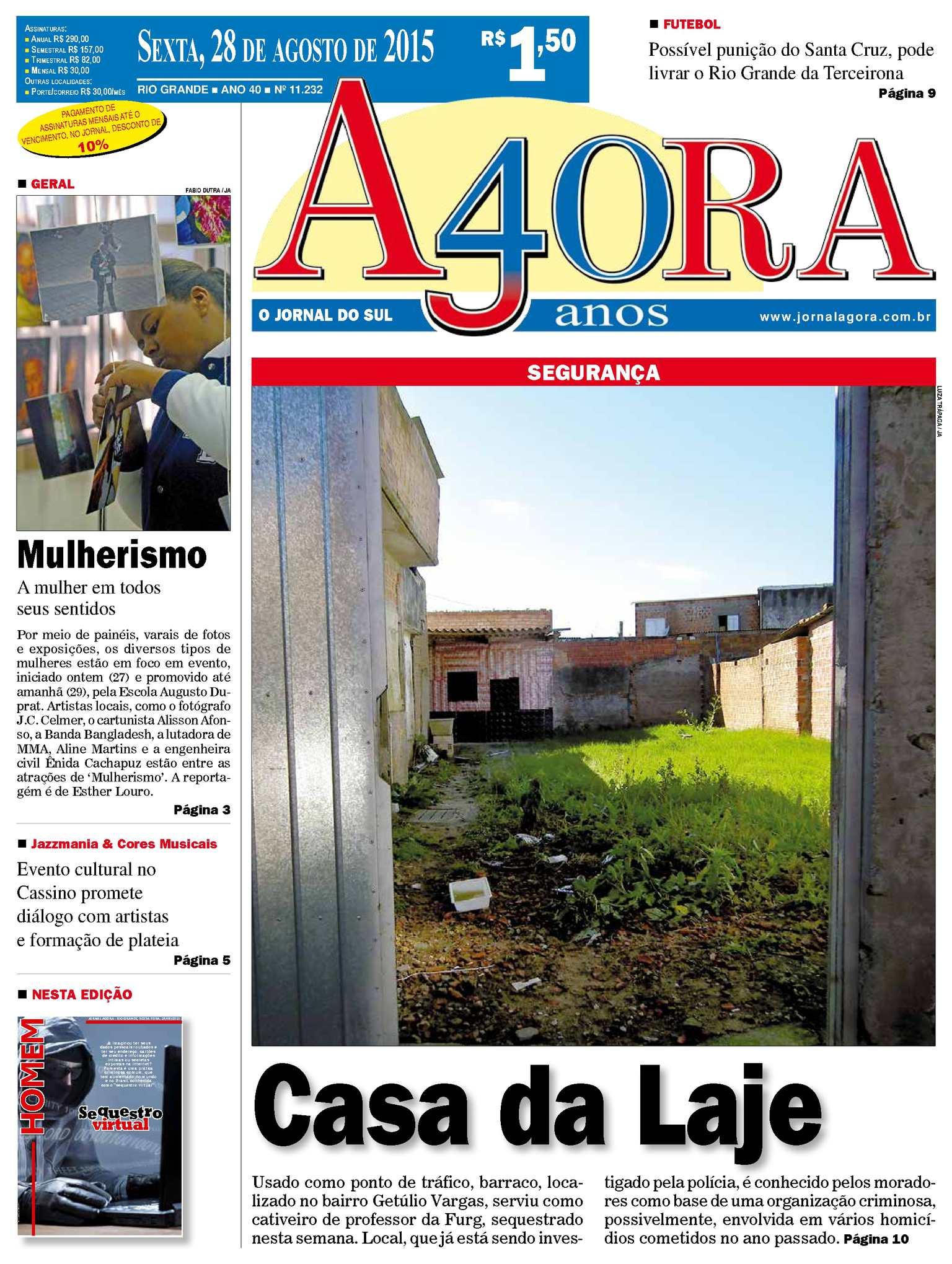 Calaméo - Jornal Agora - Edição 11232 - 28 de Agosto de 2015 34889a3c4ed