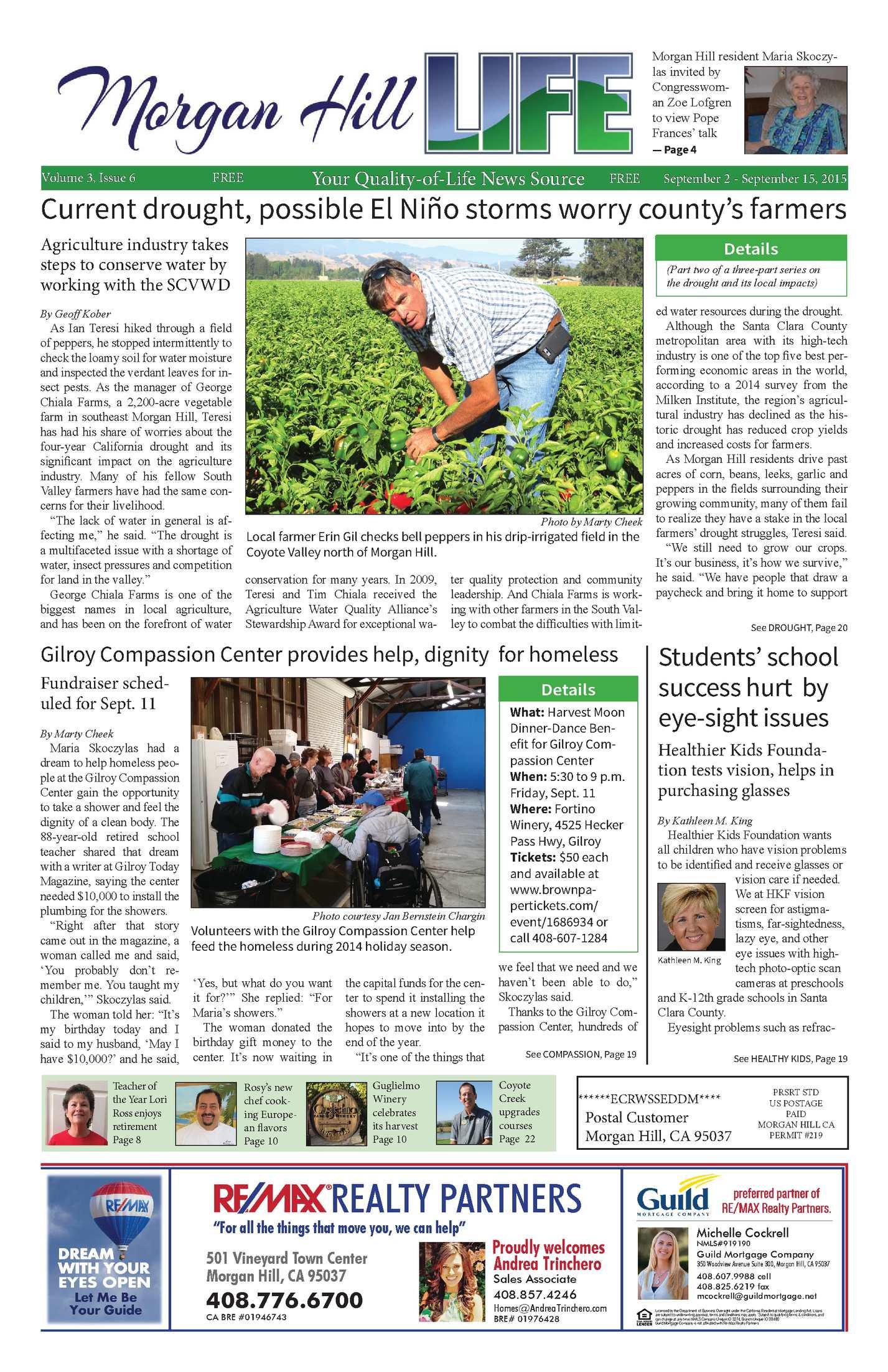 Calaméo - Morgan Hill Life Vol3, issue6, September 2, 2015