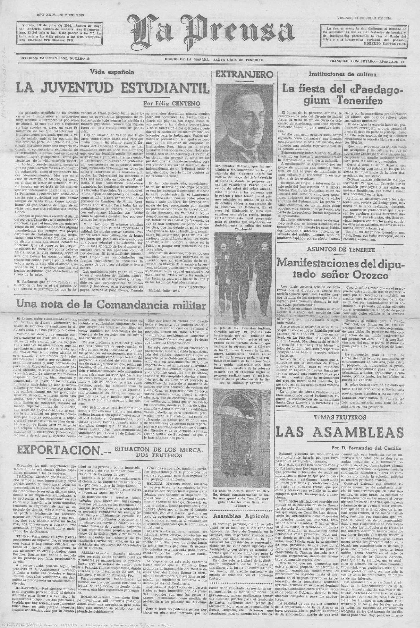 Calaméo - La Prensa 13 07 1934