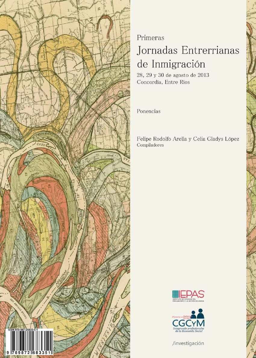Calaméo - Primeras Jornadas Entrerrianas De Inmigracion Ponencias ...