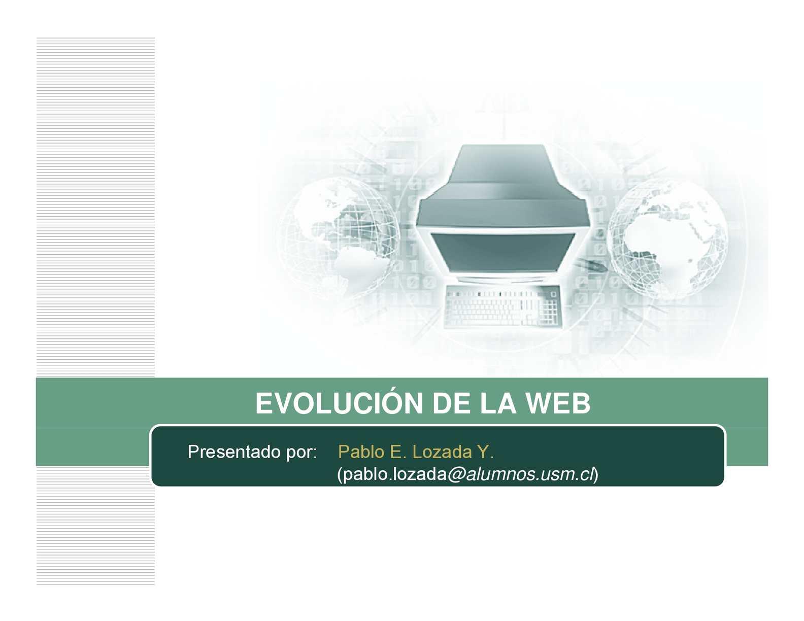 Evolucion Web