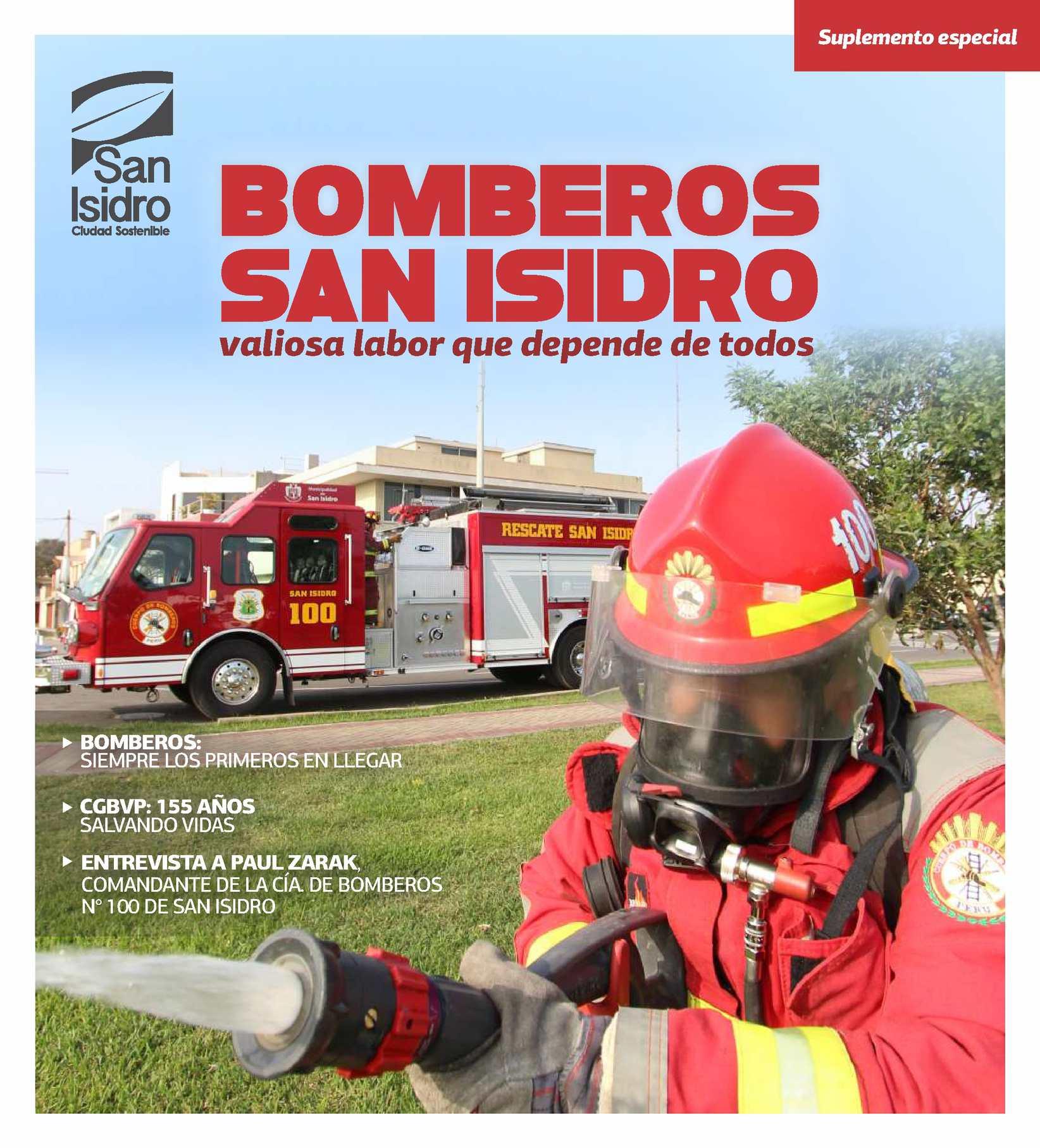 Calaméo - Suplemento El Olivar - Bomberos de San Isidro