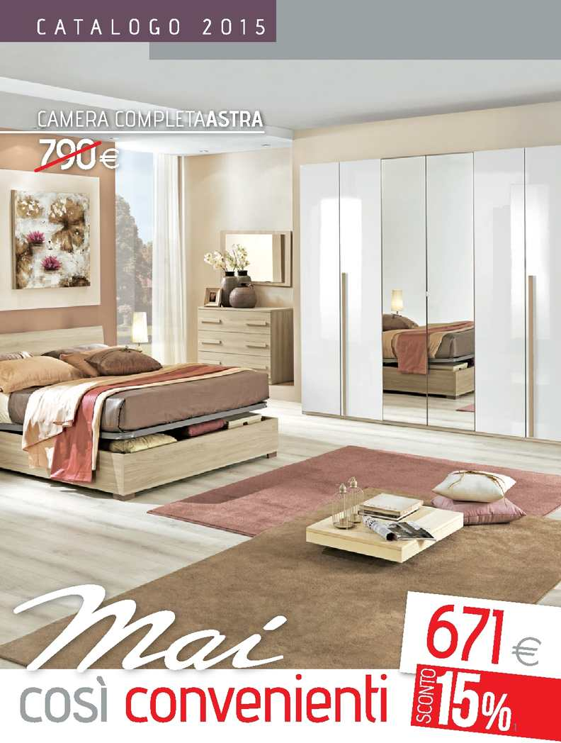 Calam o catalogo camere mondo convenienza 2015 for Catalogo camere da letto moderne