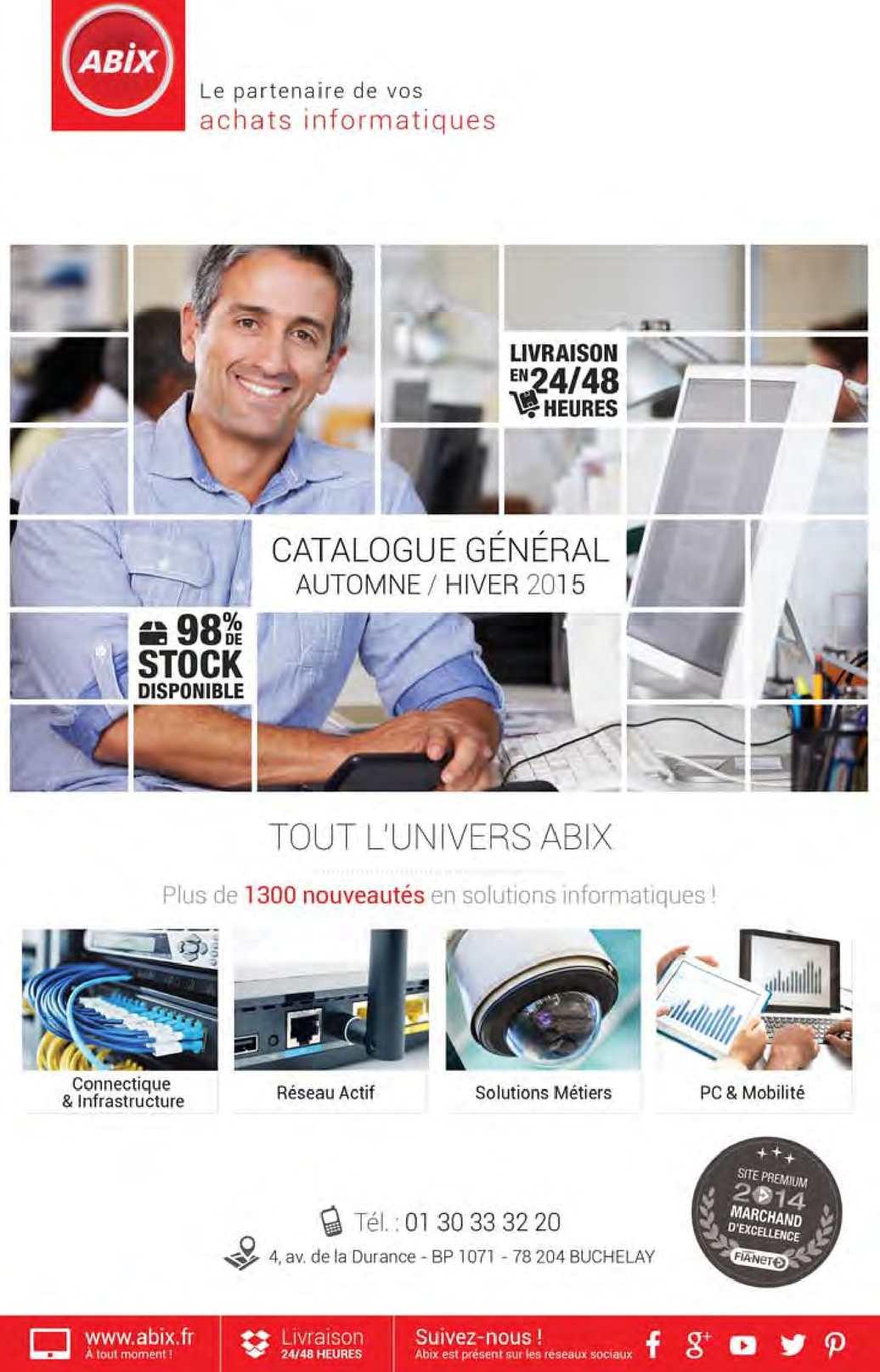 f640cc991ae2fa Calaméo - Catalogue Général Automne Hiver 2015