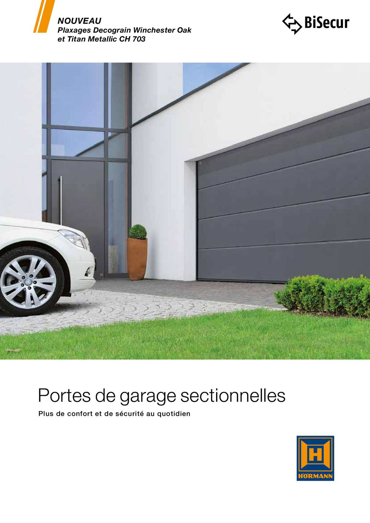 Calam o hormann porte de garage for Notice montage porte garage sectionnelle fame
