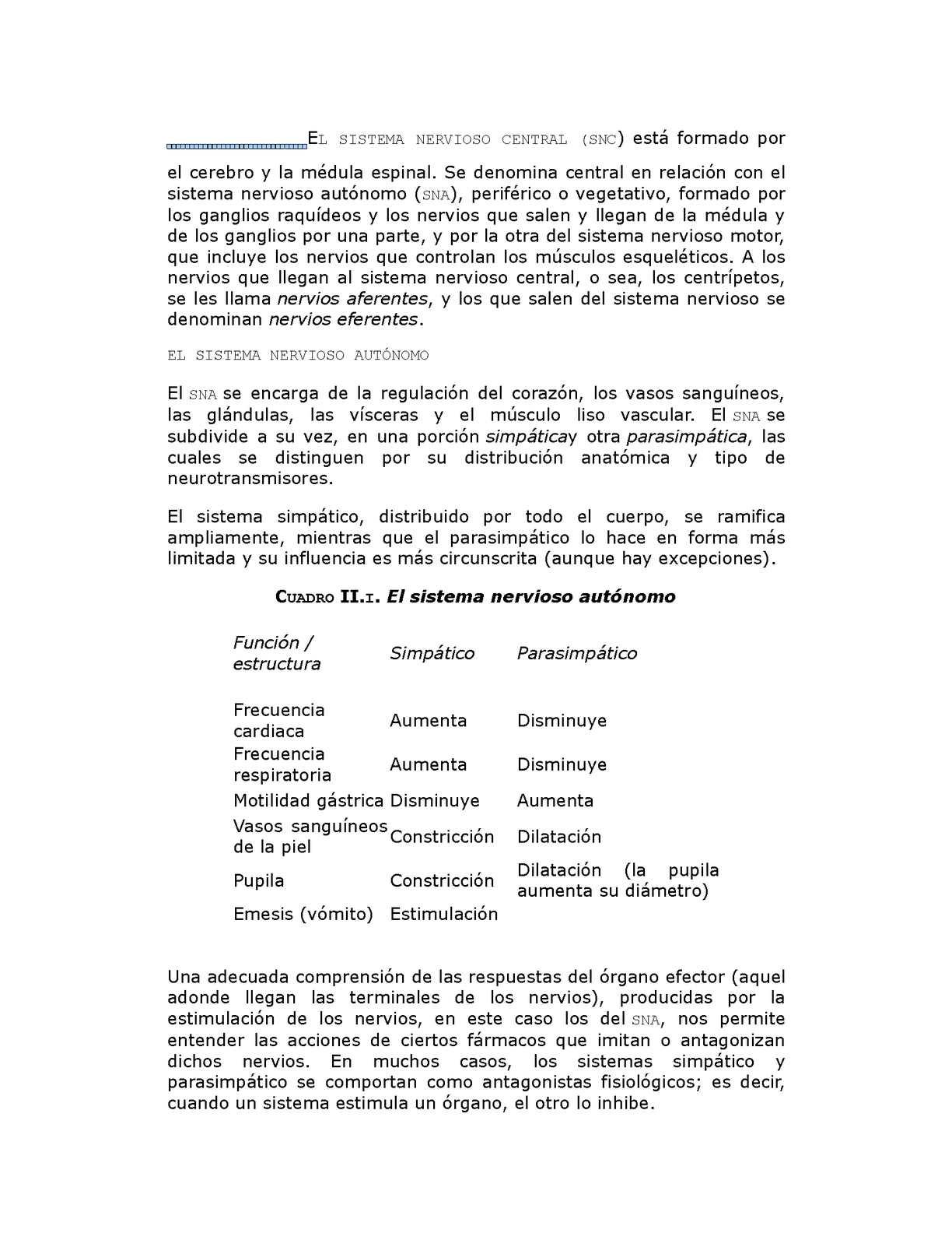 Calaméo - El Sistema Nervioso Central