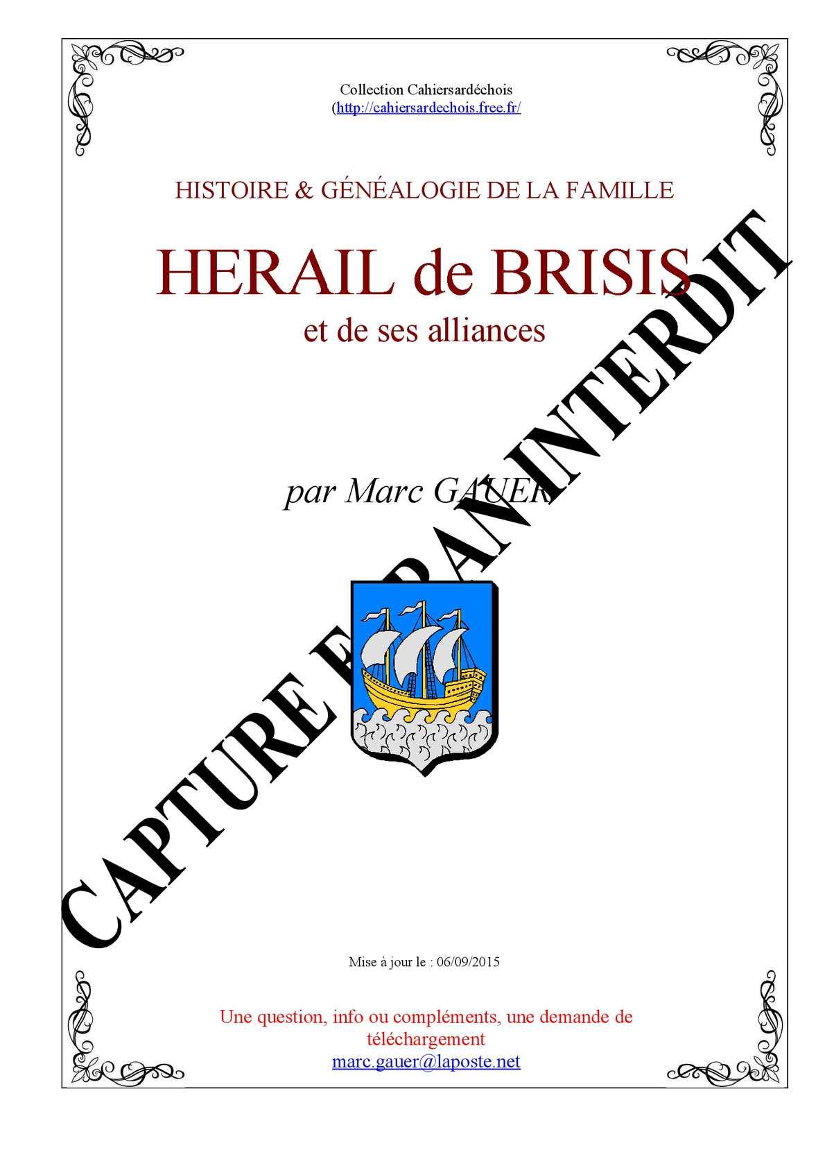 Hérail de Brisis