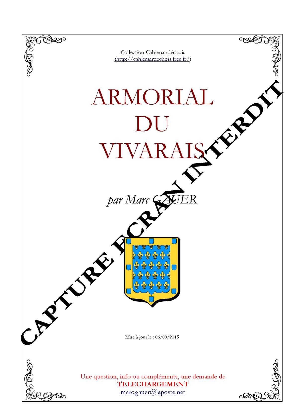 Armorial du Vivarais