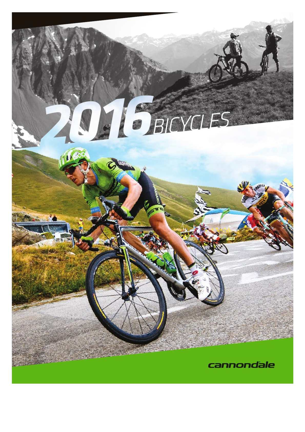 Catálogo Cannondale Bikes 2016