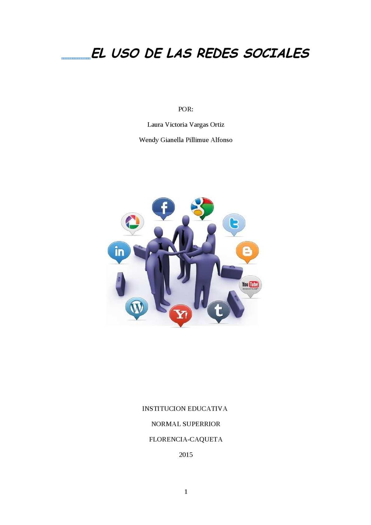Calaméo - El Uso De Las Redes Sociales