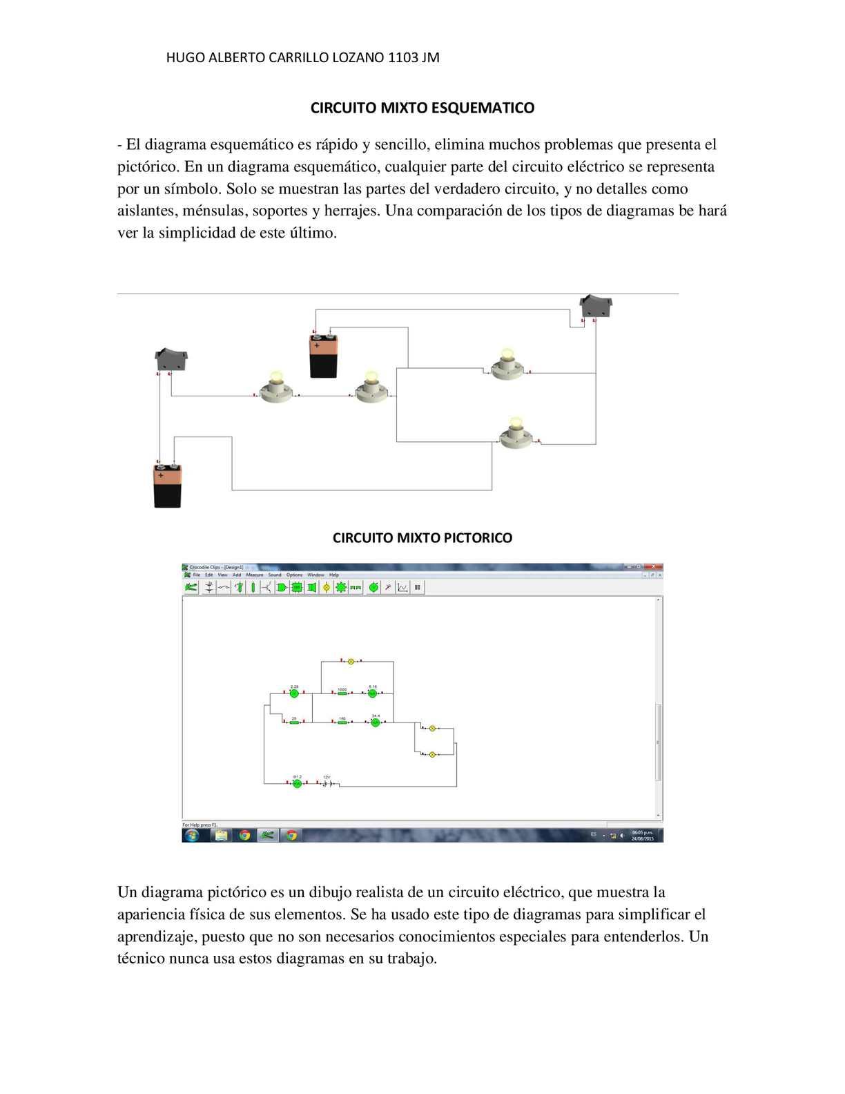 Circuito Y Sus Partes : Calaméo circuitos mixto pdf docx